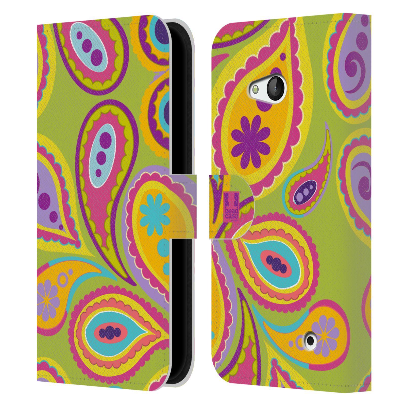 HEAD CASE Flipové pouzdro pro mobil NOKIA / MICROSOFT LUMIA 640 / LUMIA 640 DUAL barevné slzy KIWI
