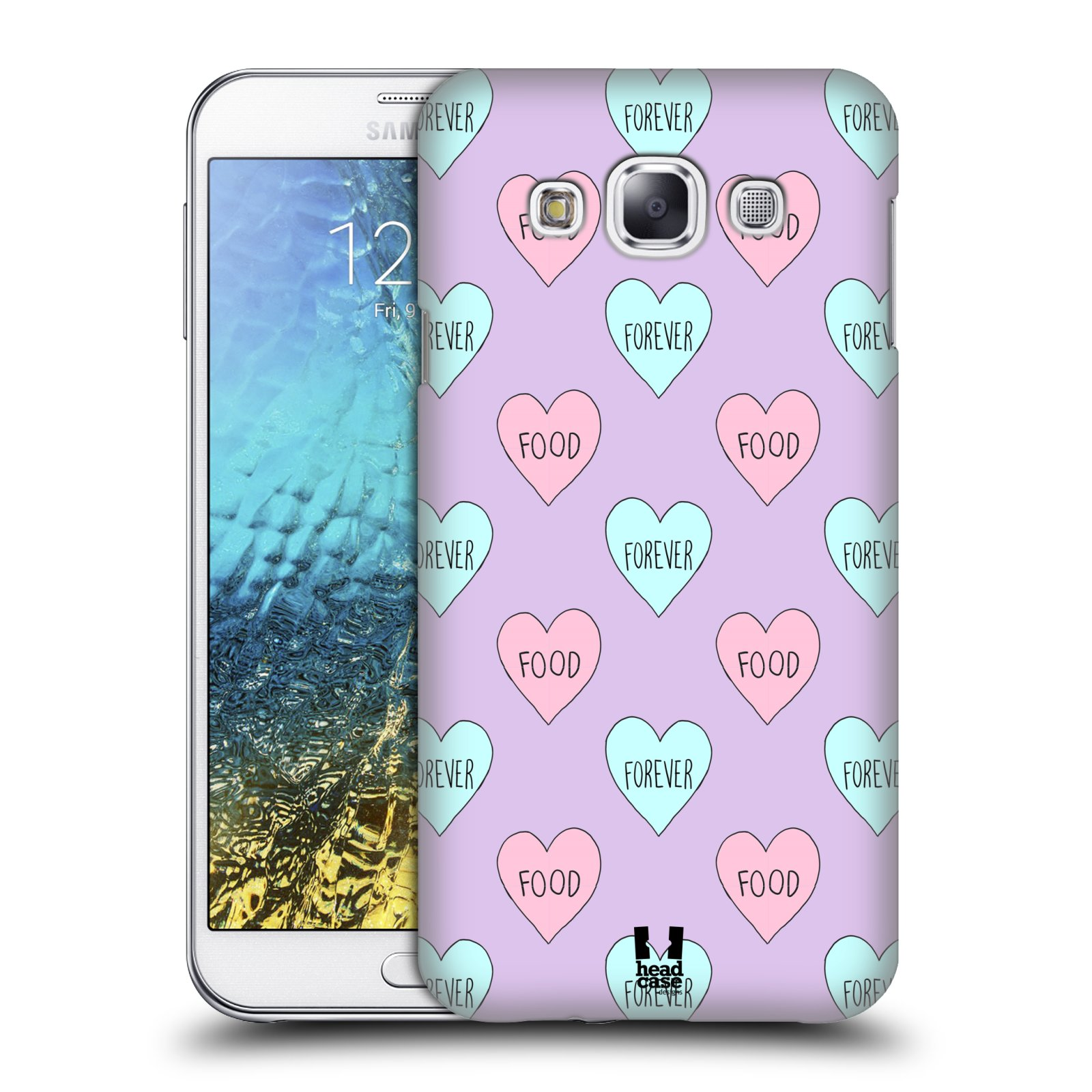 Head case designs pastel overlays hard back case for for Cell phone cover design ideas
