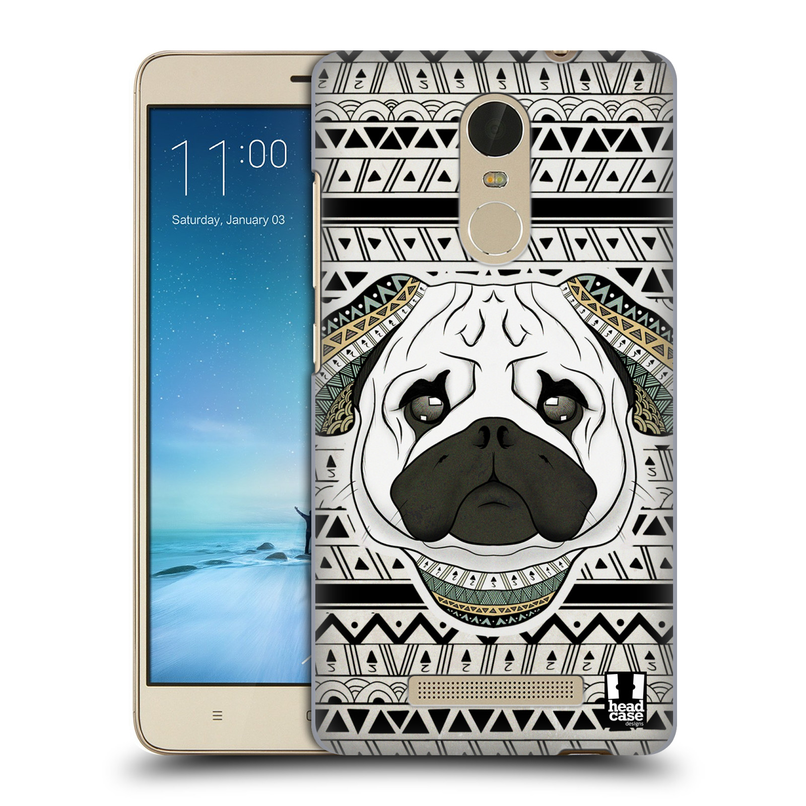 HEAD-CASE-DESIGNS-PATTERNED-ANIMALS-HARD-BACK-CASE-FOR-XIAOMI-PHONES