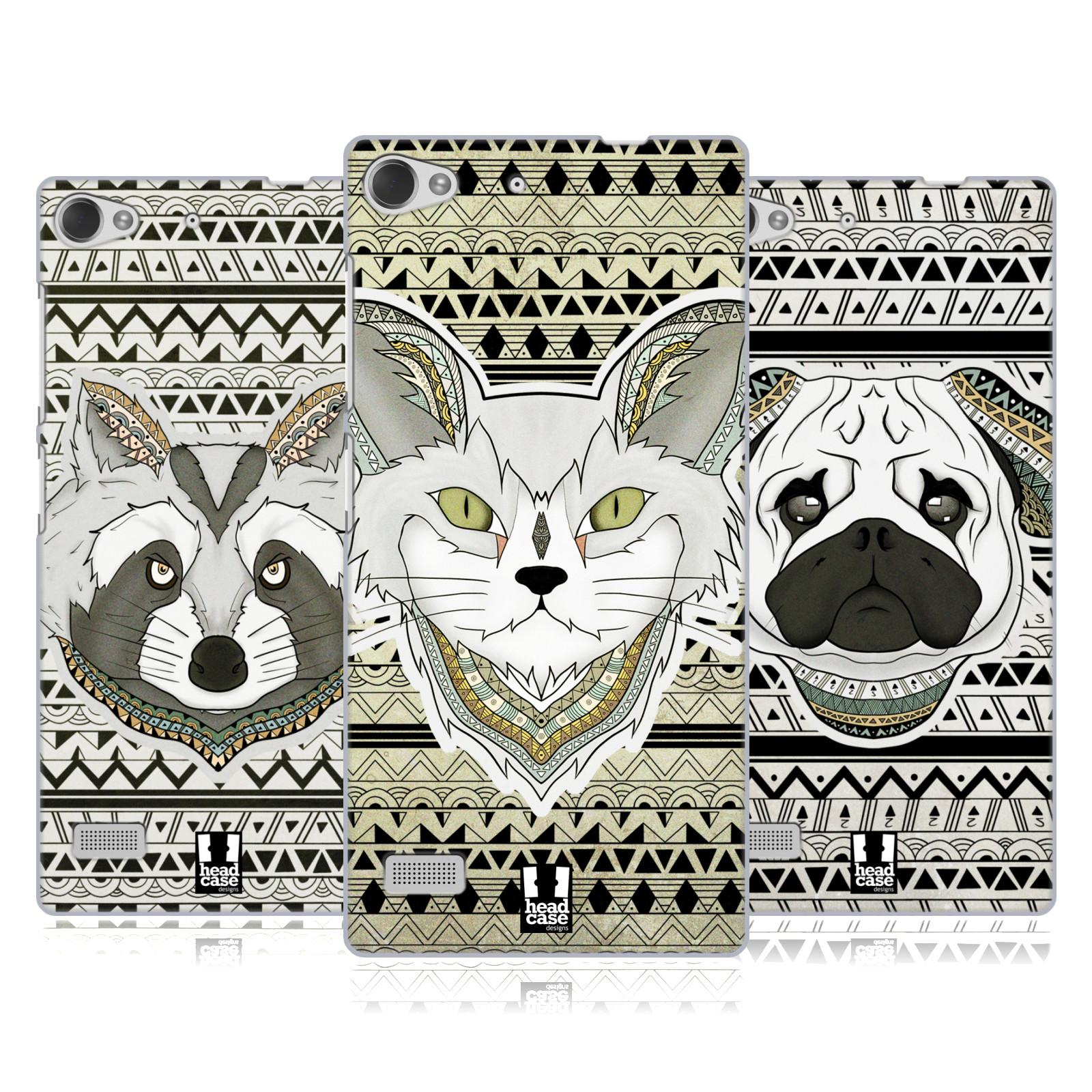 HEAD-CASE-DESIGNS-PATTERNED-ANIMALS-HARD-BACK-CASE-FOR-LENOVO-PHONES