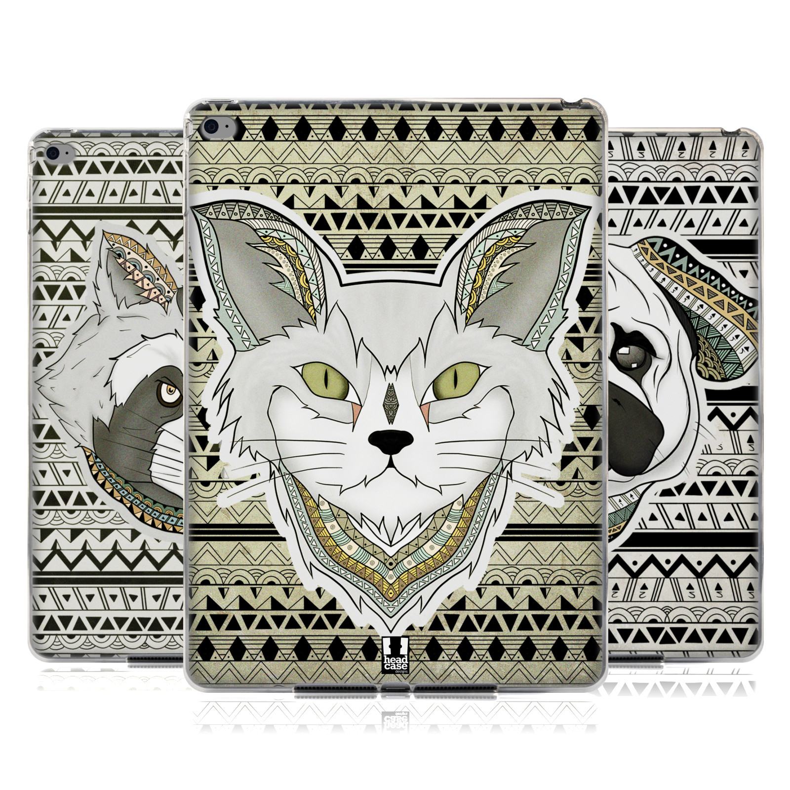 HEAD-CASE-DESIGNS-PATTERNED-ANIMALS-SOFT-GEL-CASE-FOR-APPLE-SAMSUNG-TABLETS