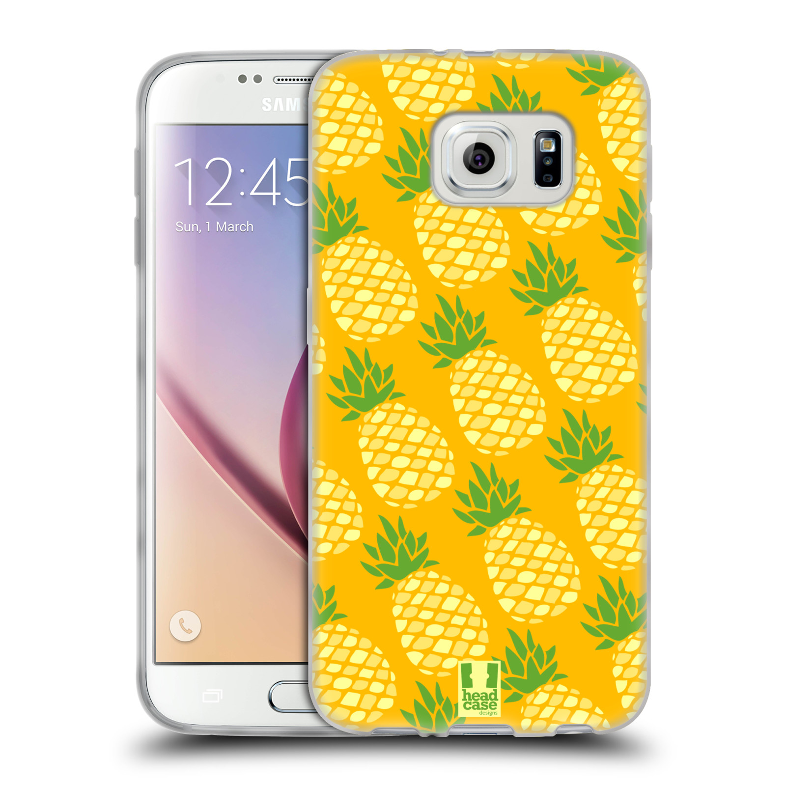 Head case designs pineapple patterns gel case for samsung for Cell phone cover design ideas