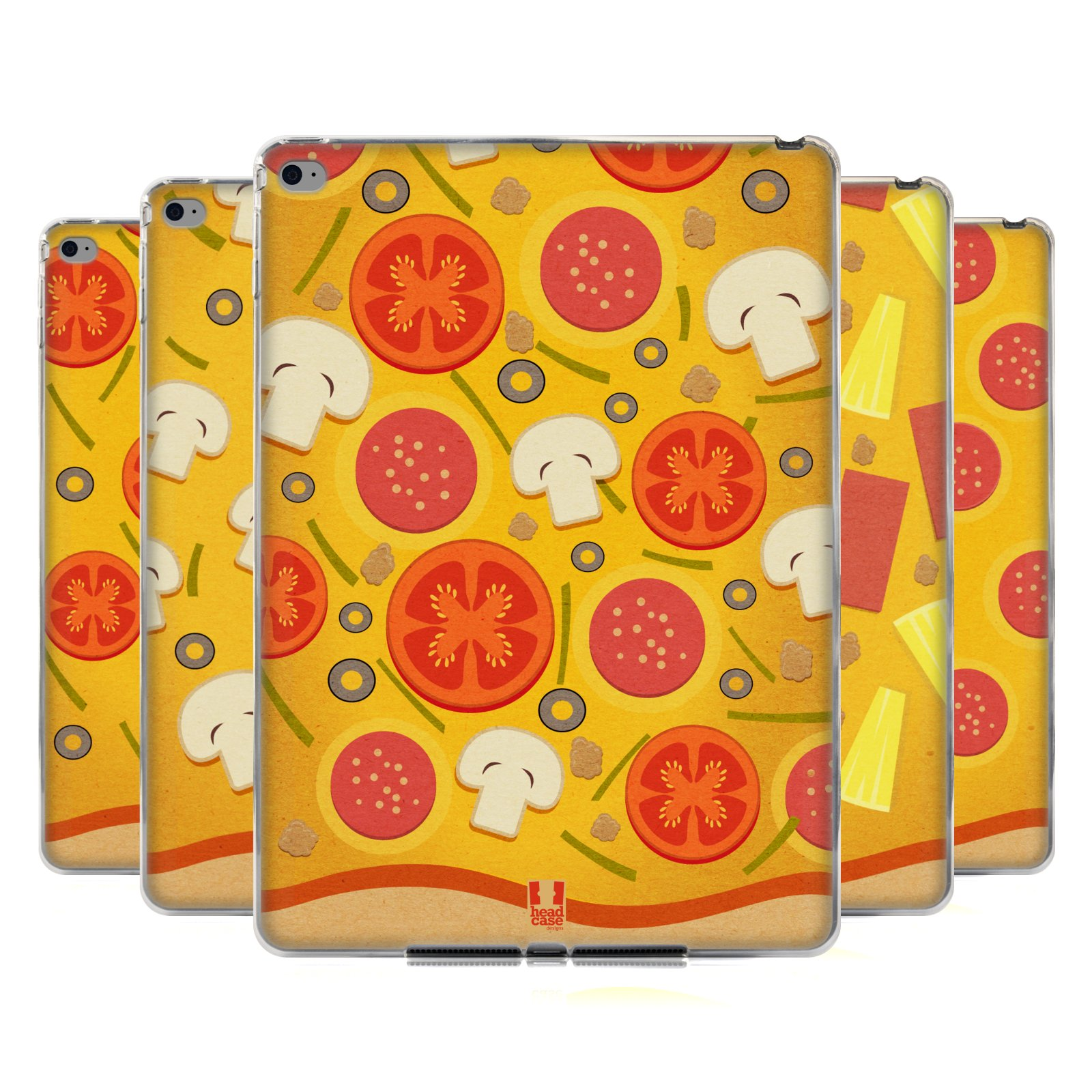 garniture de pizza motif tui coque en gel molle pour apple samsung tablettes ebay. Black Bedroom Furniture Sets. Home Design Ideas