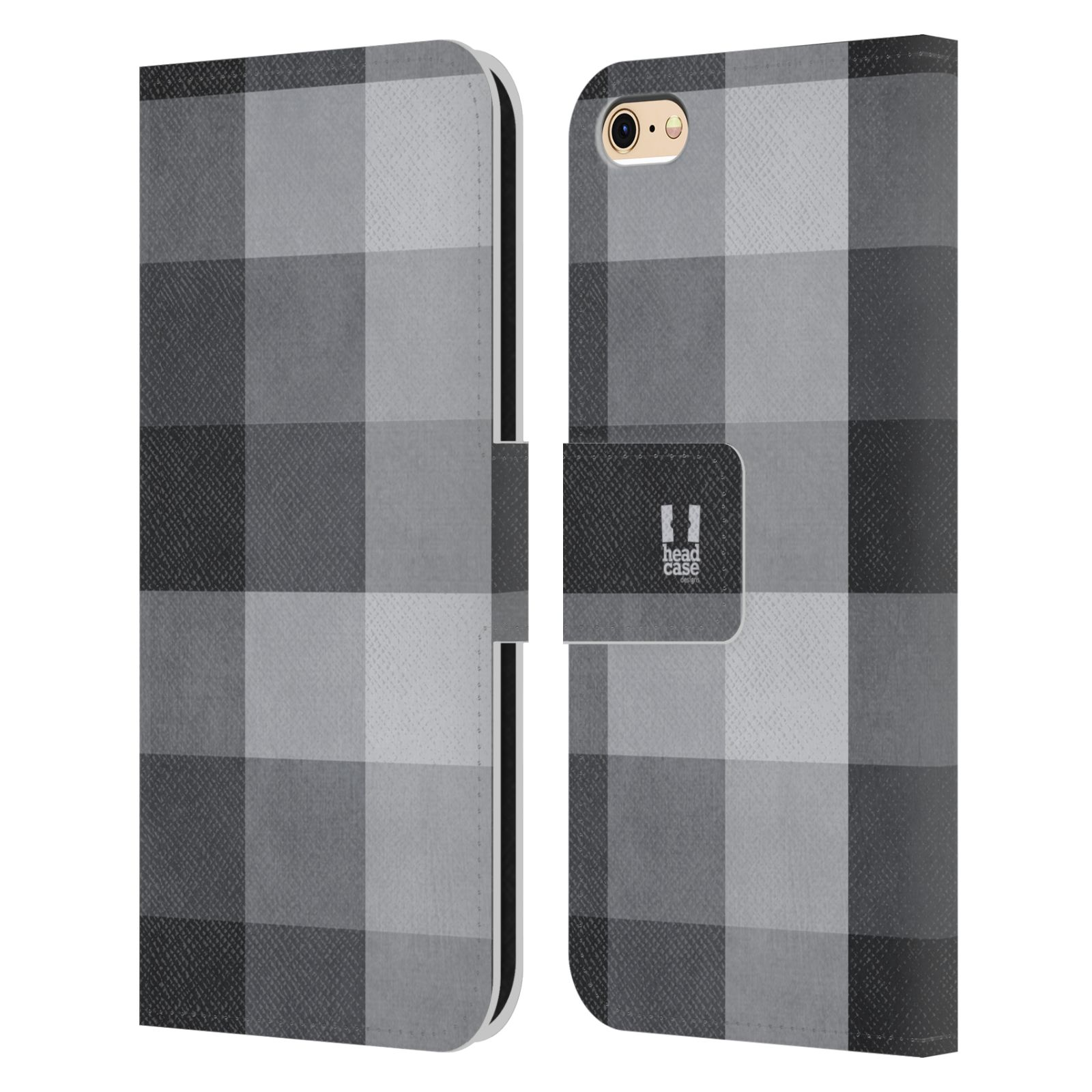 head case designs plaid brieftasche handyh lle aus leder. Black Bedroom Furniture Sets. Home Design Ideas