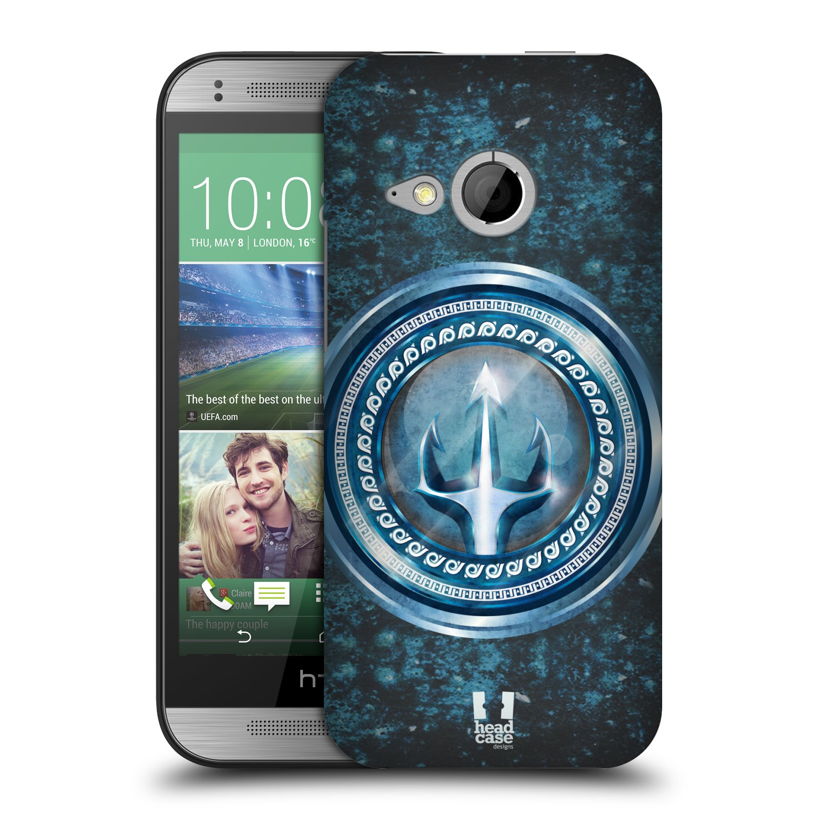 HEAD CASE DESIGNS PLATES OF OLYMPUS HARD BACK CASE FOR HTC ONE MINI 2