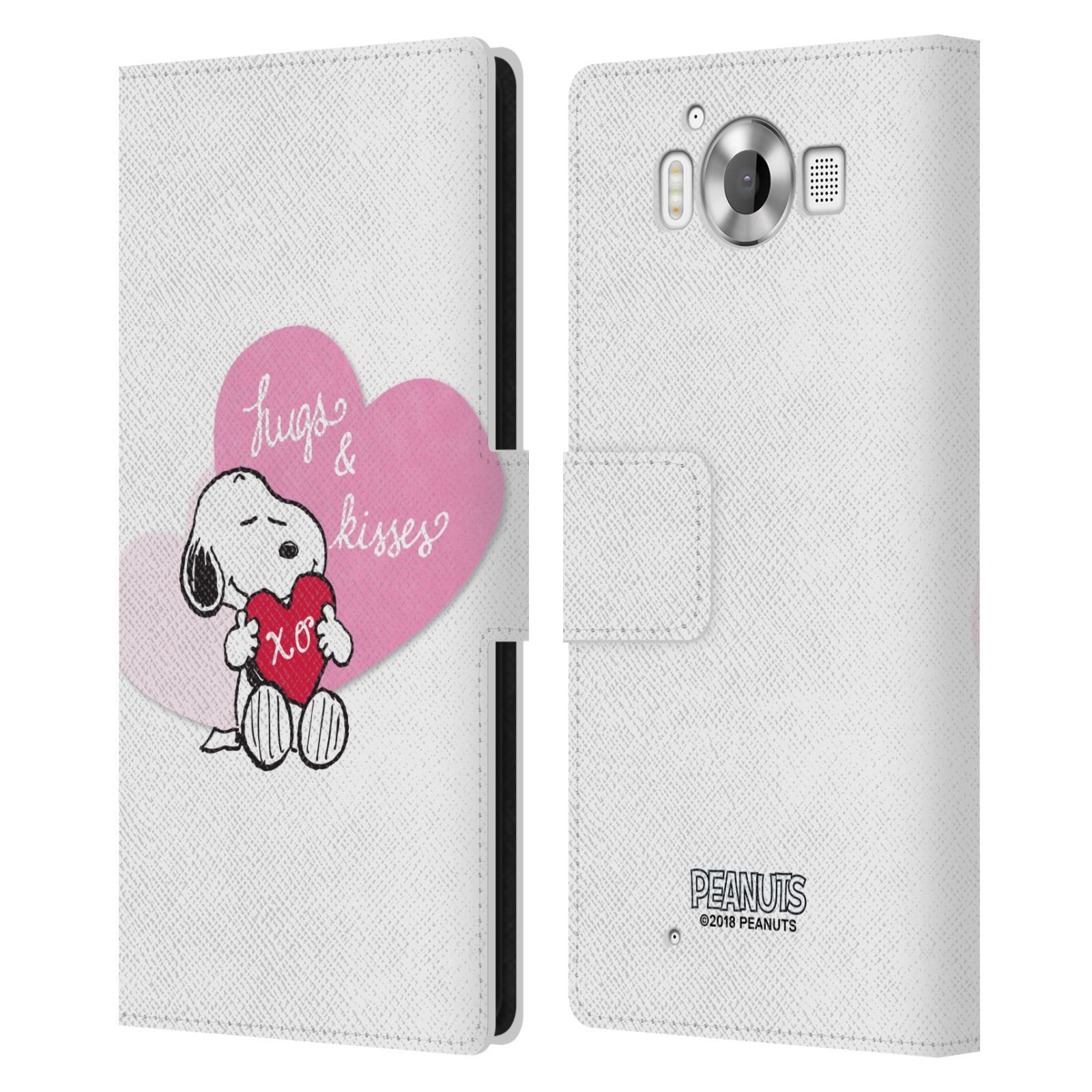 Pouzdro na mobil Nokia Lumia 950 - Head Case - Peanuts - Snoopy pejsek se srdíčkem