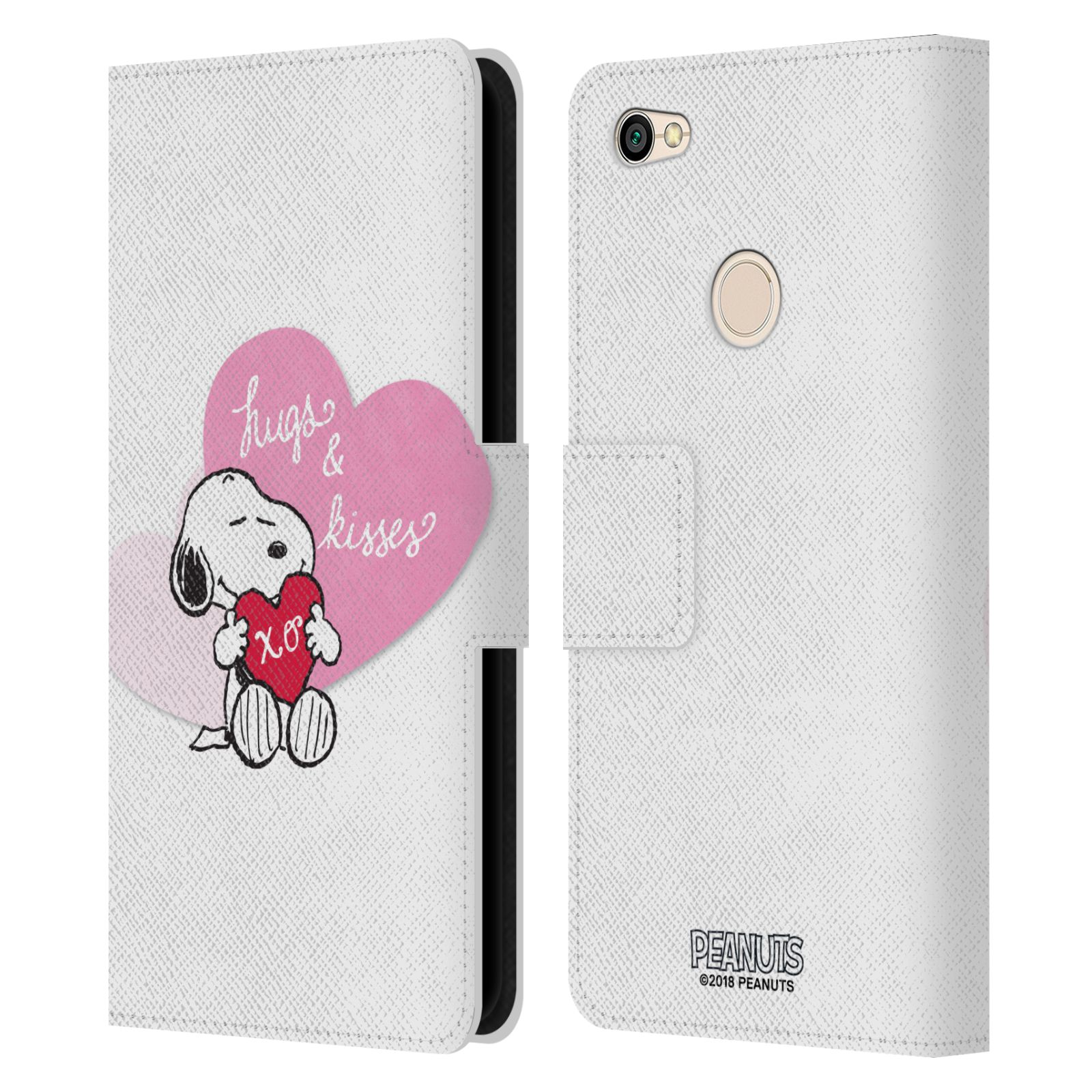 Pouzdro na mobil Xiaomi Redmi Note 5A - Head Case - Peanuts - Snoopy pejsek se srdíčkem