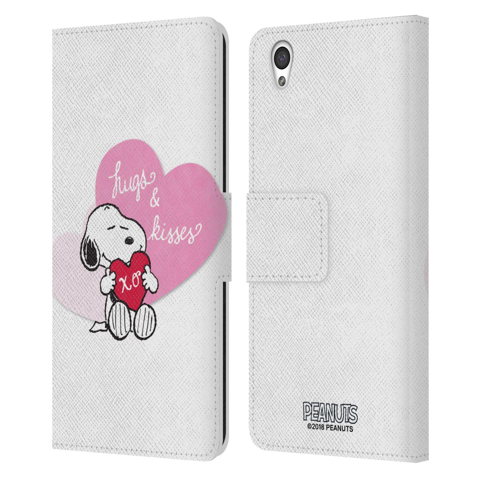 Pouzdro na mobil OnePlus X - Head Case - Peanuts - Snoopy pejsek se srdíčkem