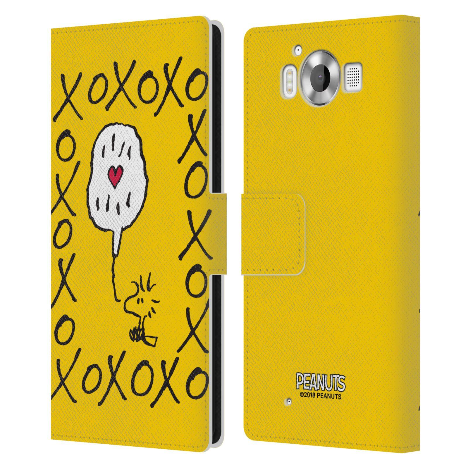 Pouzdro na mobil Nokia Lumia 950 - Head Case - Peanuts - Woodstock ptáček XOXO
