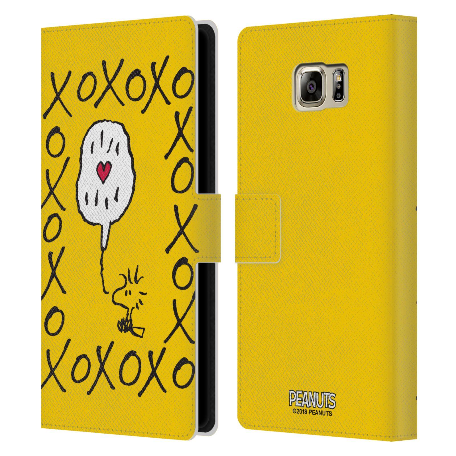 Pouzdro na mobil Samsung Galaxy NOTE 5 - Head Case - Peanuts - Woodstock ptáček XOXO