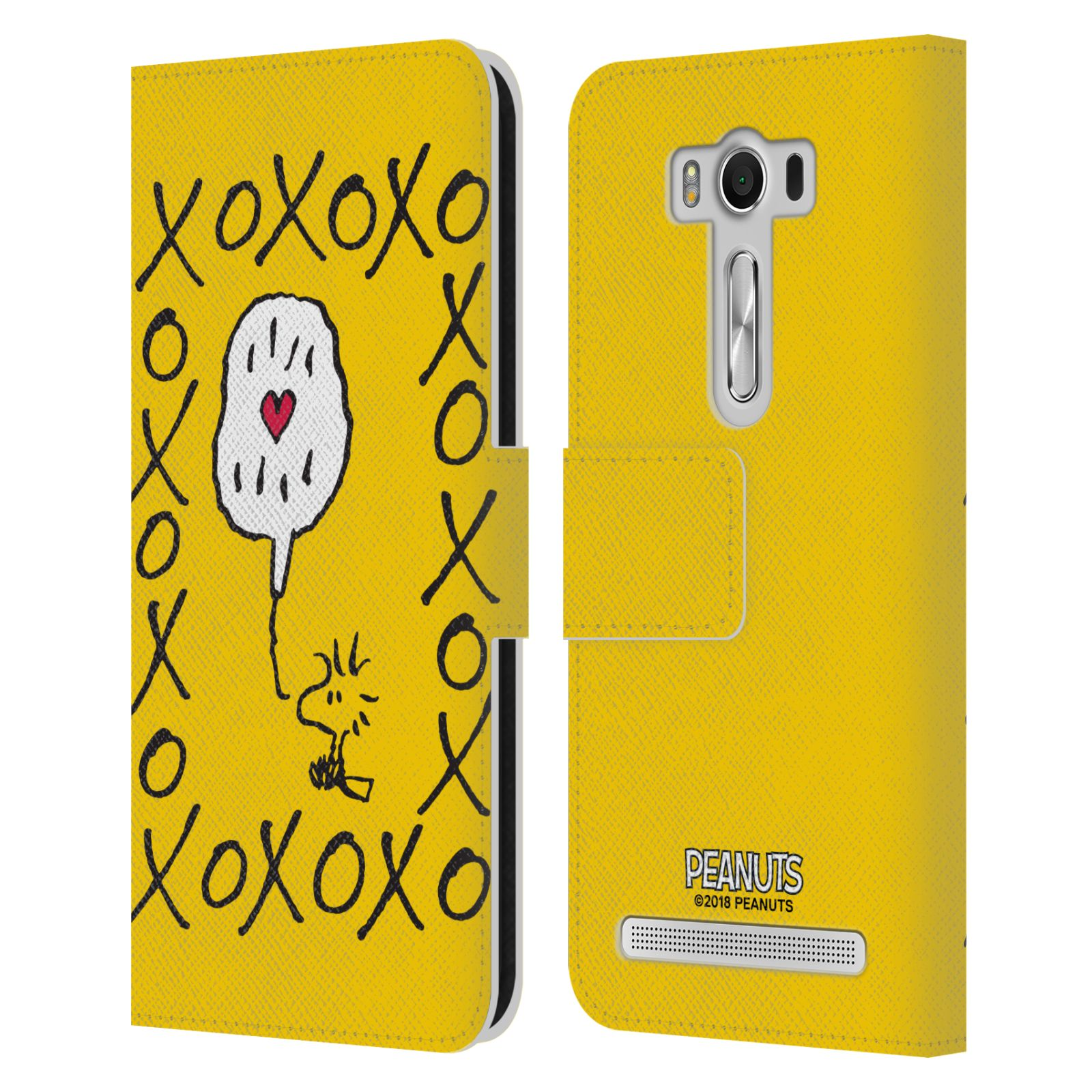 Pouzdro na mobil Asus Zenfone 2 Laser ZE500KL - Head Case - Peanuts - Woodstock ptáček XOXO