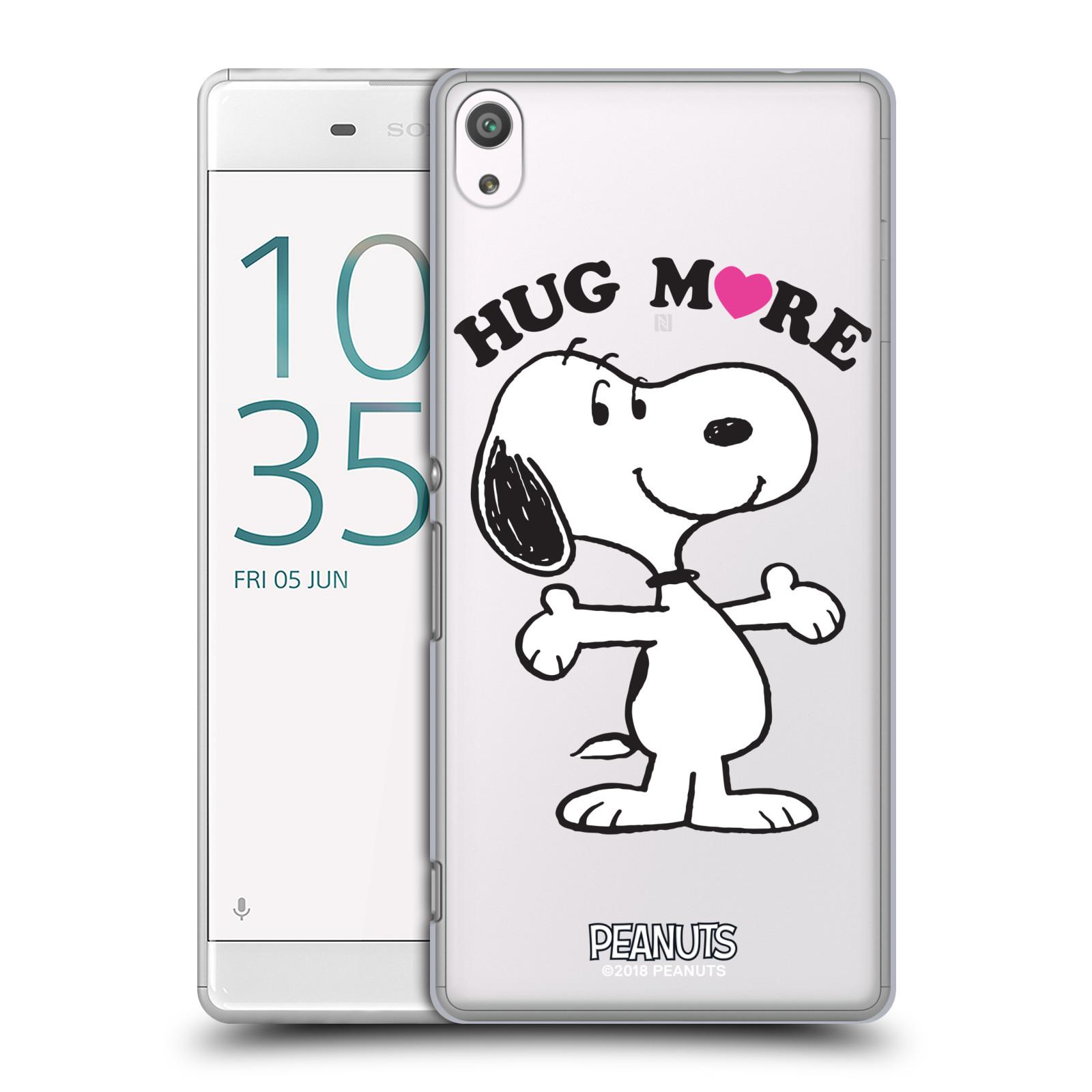 Pouzdro na mobil Sony Xperia XA ULTRA Oficiální motiv Peanuts pejsek Snoopy srdíčko