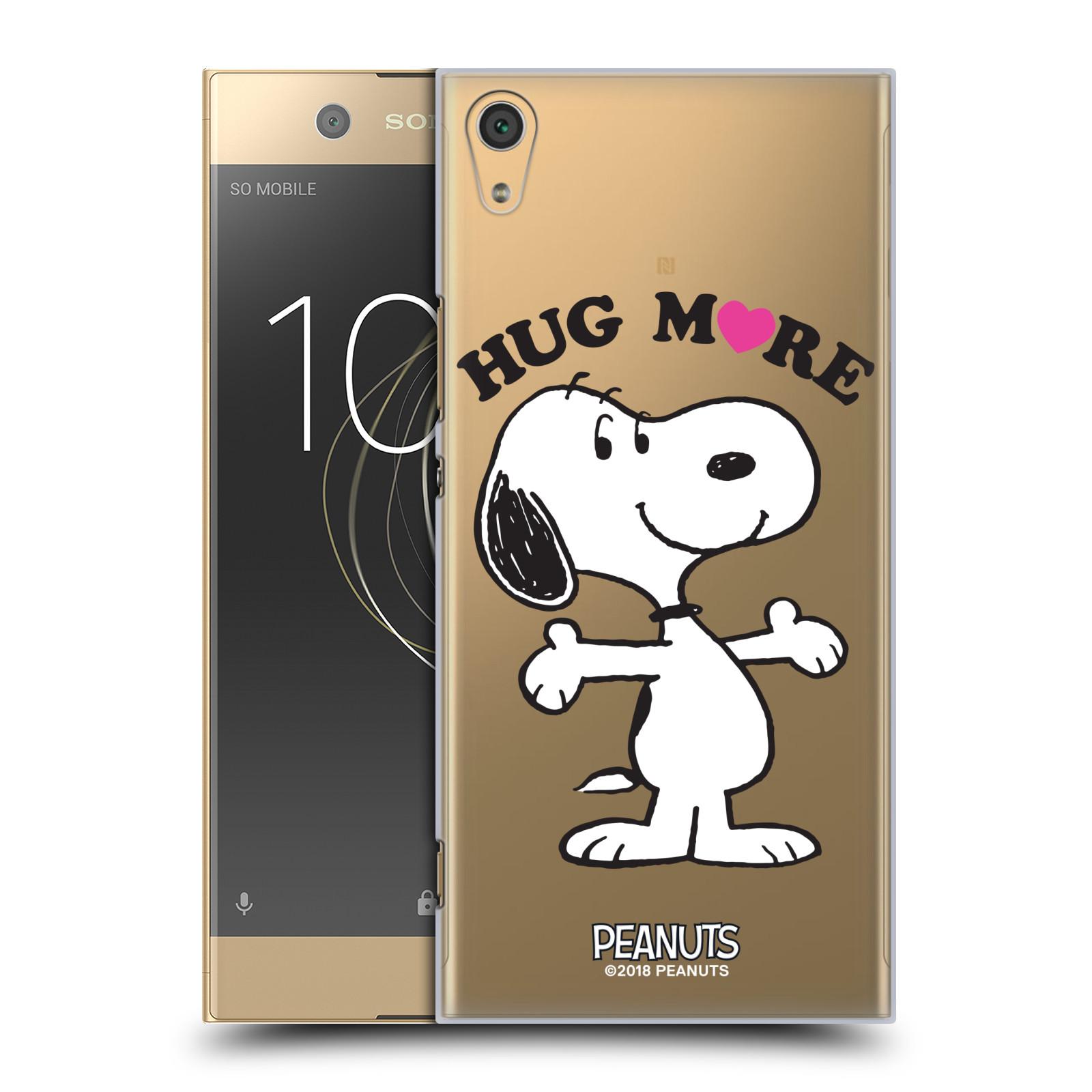 Pouzdro na mobil Sony Xperia XA1 ULTRA Oficiální motiv Peanuts pejsek Snoopy srdíčko