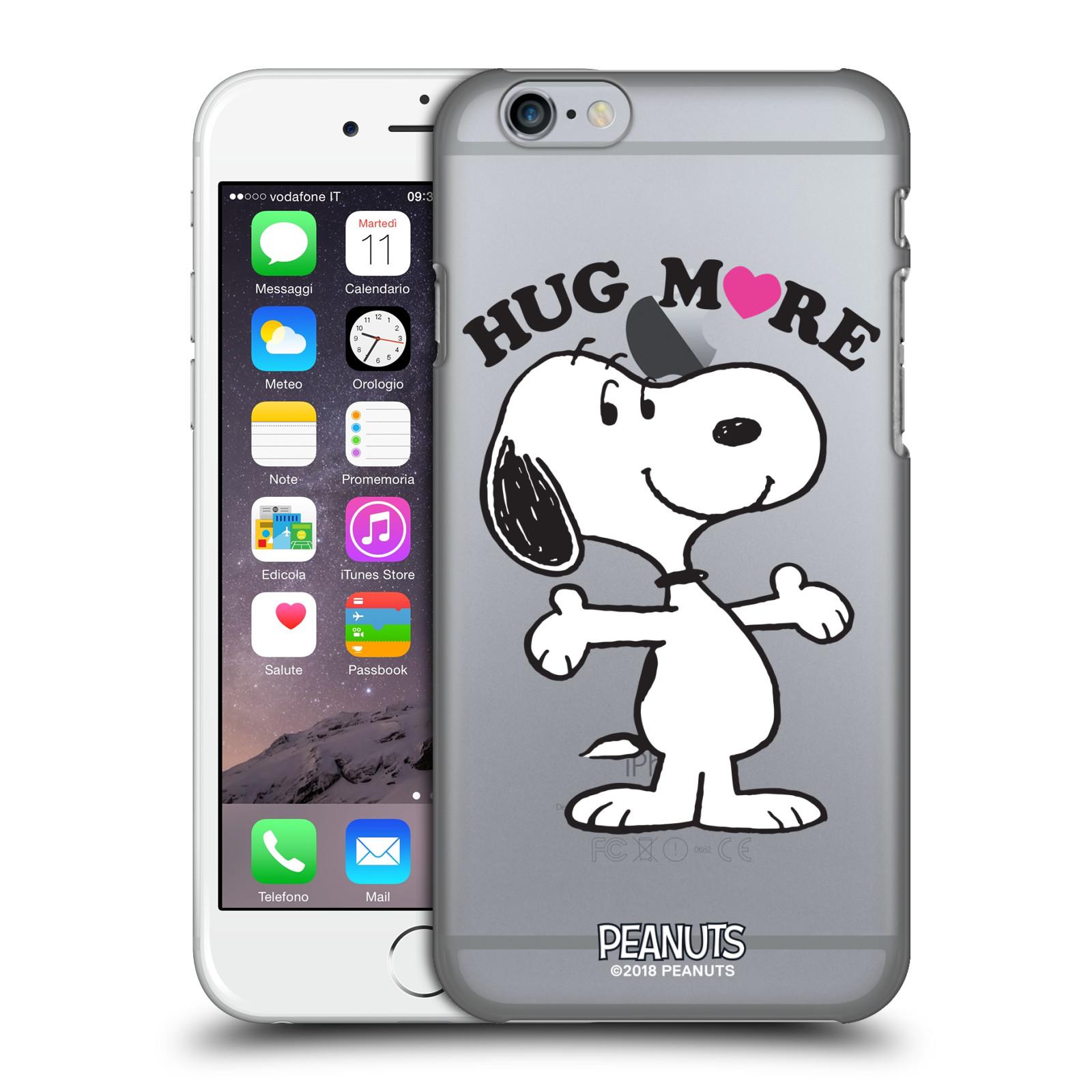 Pouzdro na mobil Apple Iphone 6/6S Oficiální motiv Peanuts pejsek Snoopy srdíčko