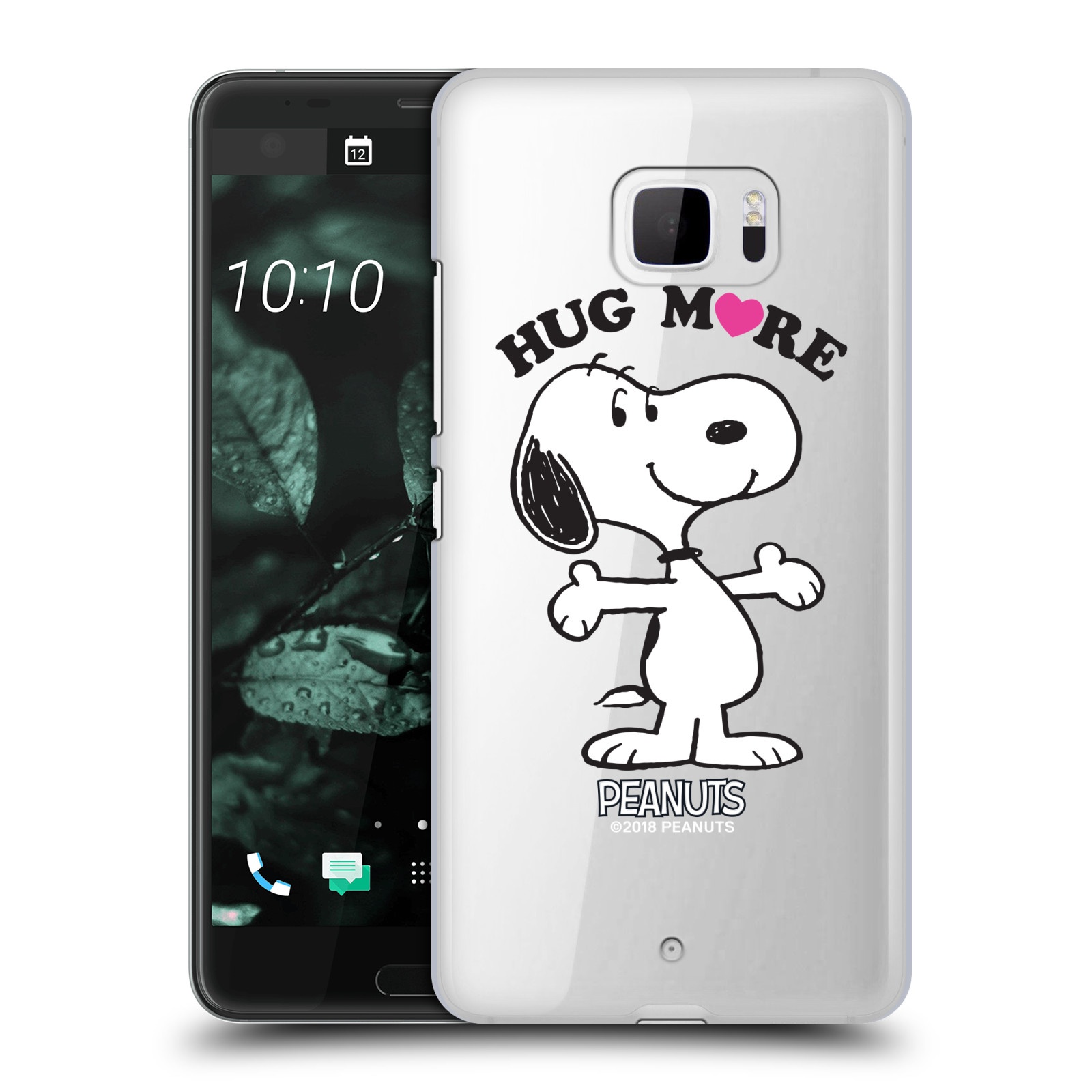 Pouzdro na mobil HTC U Ultra Oficiální motiv Peanuts pejsek Snoopy srdíčko