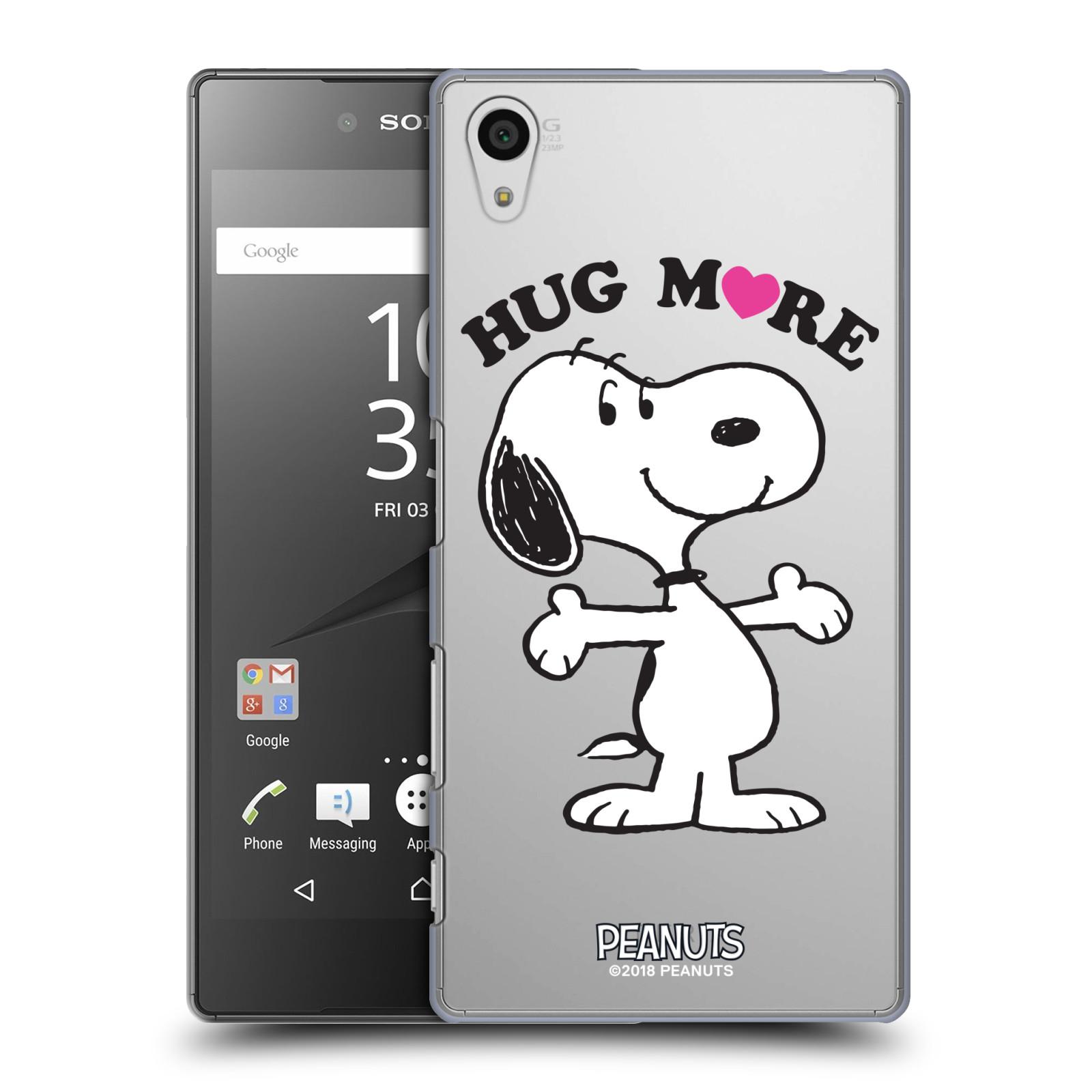 Pouzdro na mobil Sony Xperia Z5 Oficiální motiv Peanuts pejsek Snoopy srdíčko