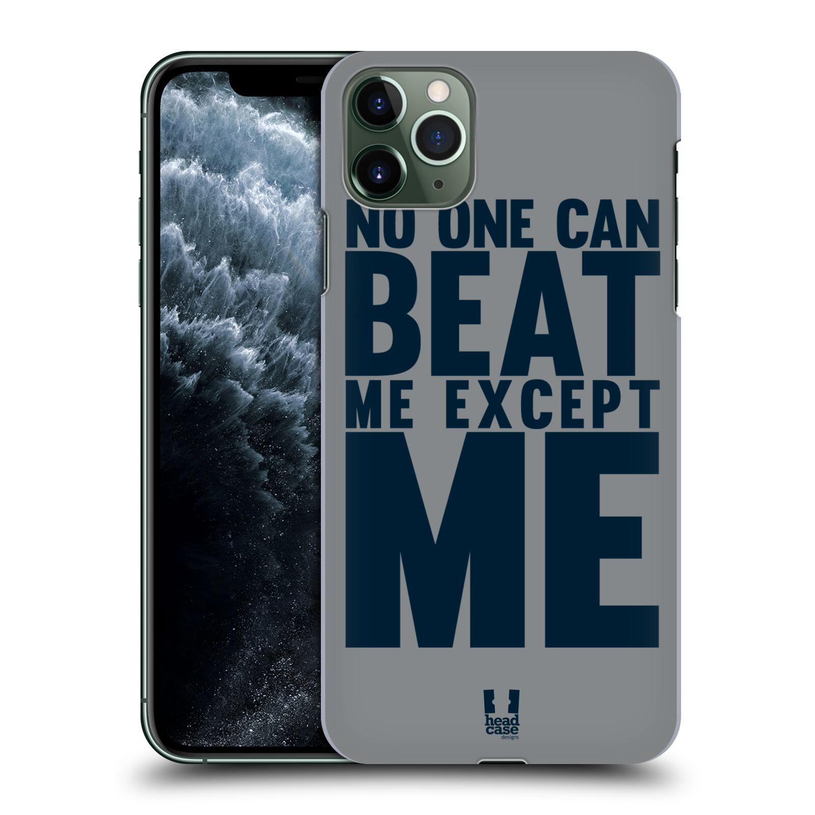 Pouzdro na mobil Apple Iphone 11 PRO MAX - HEAD CASE - Sportovní tématika síla vůle Beat ME