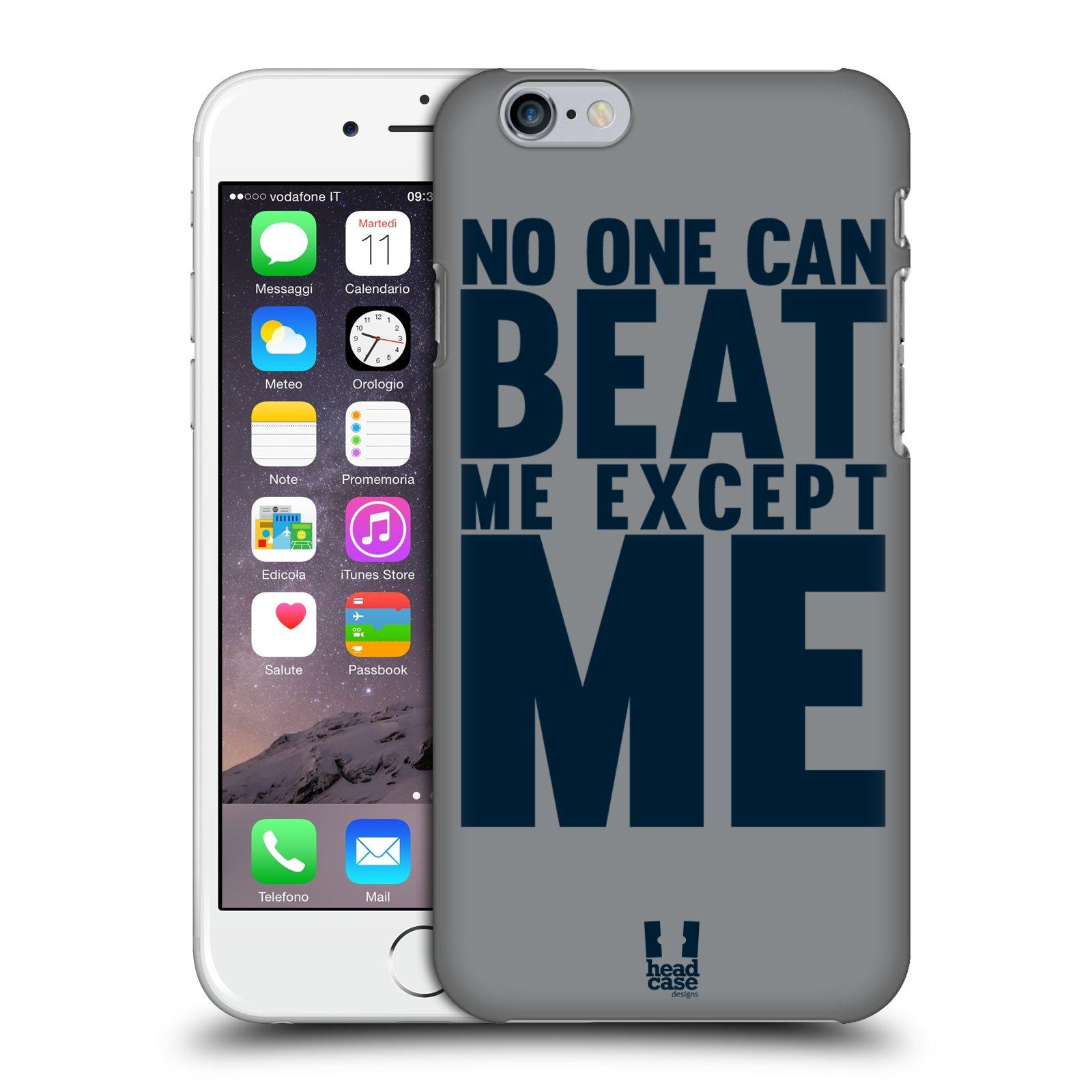 Plastové pouzdro pro mobil Apple Iphone 6/6S Sportovní tématika síla vůle Beat ME