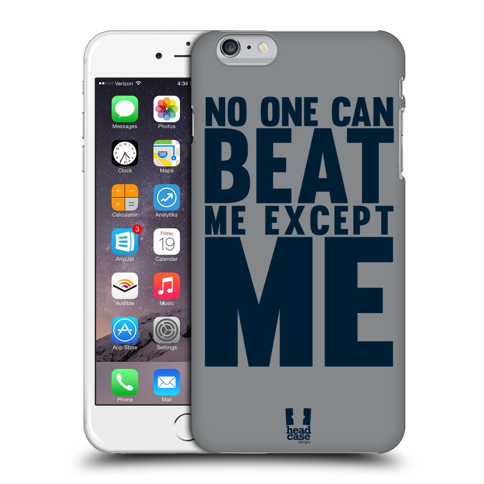 Plastové pouzdro pro mobil Apple Iphone 6 PLUS / 6S PLUS Sportovní tématika síla vůle Beat ME