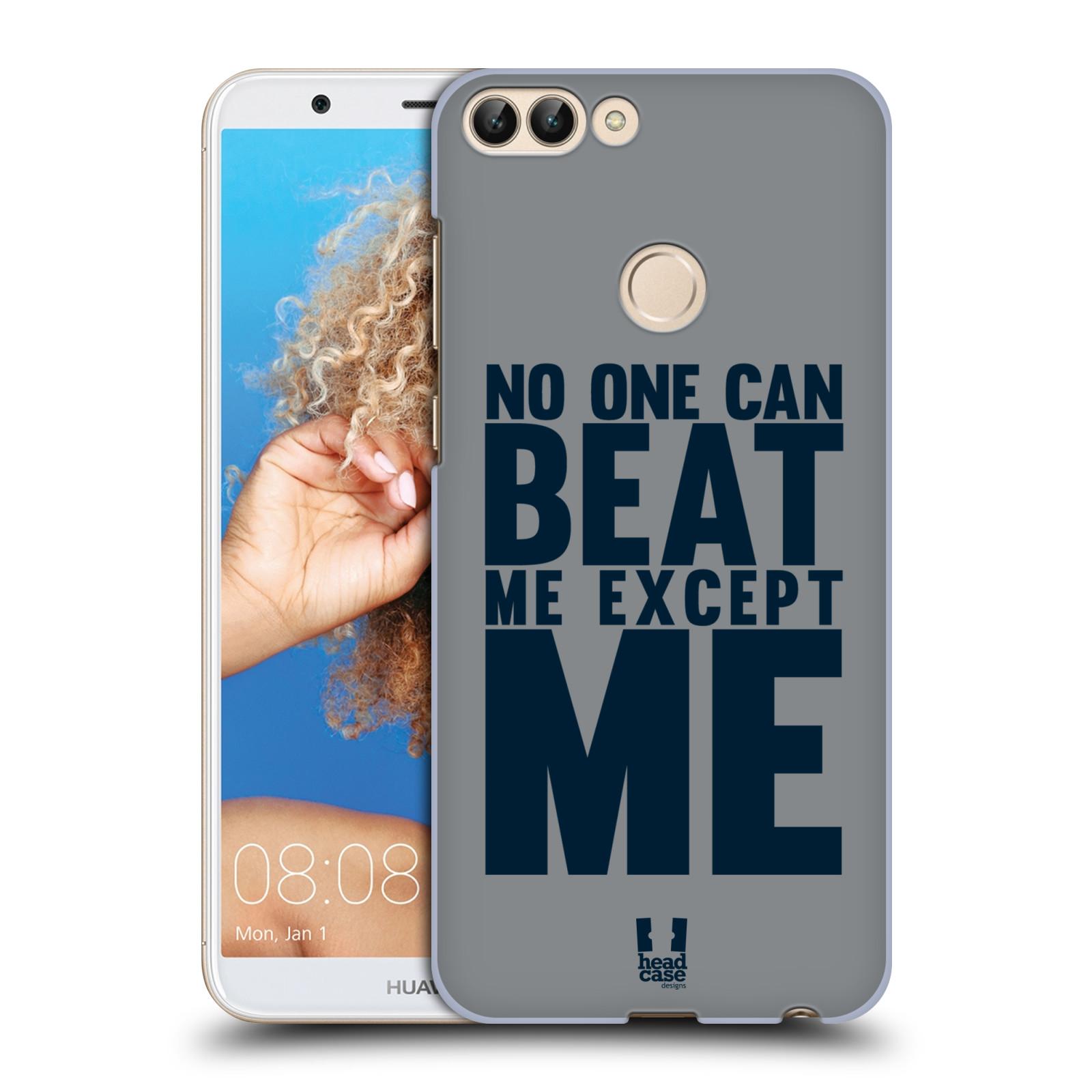 HEAD CASE plastový obal na mobil Huawei P Smart Sportovní tématika síla vůle Beat ME