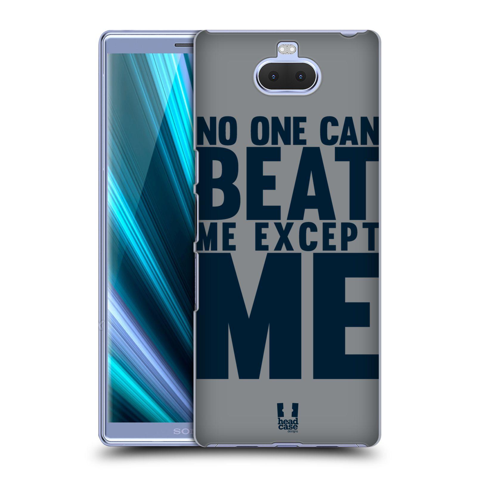 Pouzdro na mobil Sony Xperia 10 - Head Case - Sportovní tématika síla vůle Beat ME