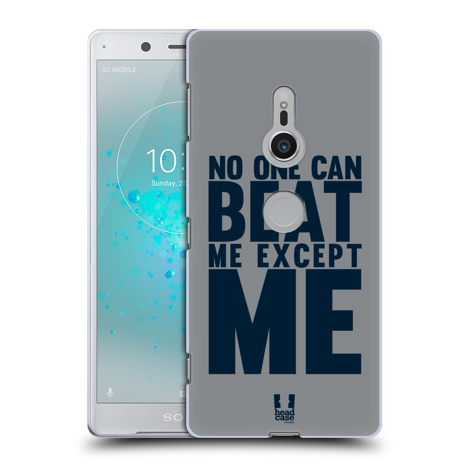 HEAD CASE plastový obal na mobil Sony Xperia XZ2 Sportovní tématika síla vůle Beat ME