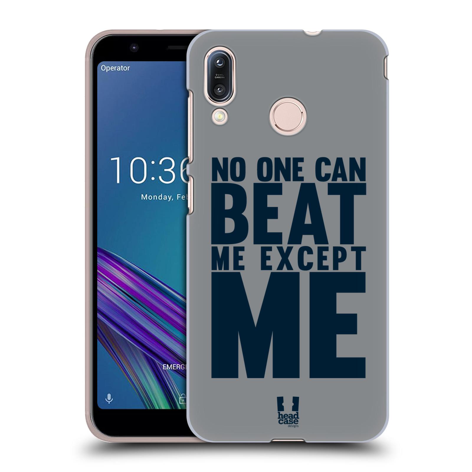 Pouzdro na mobil Asus Zenfone Max M1 (ZB555KL) - HEAD CASE - Sportovní tématika síla vůle Beat ME