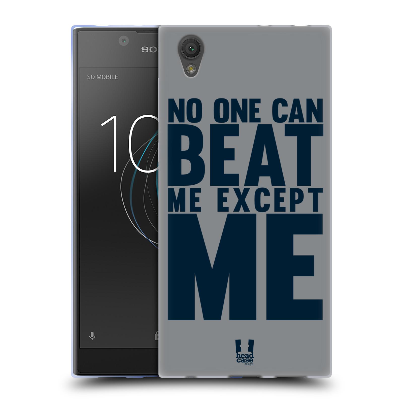 HEAD CASE silikonový obal na mobil Sony Xperia L1 Sportovní tématika síla vůle Beat ME