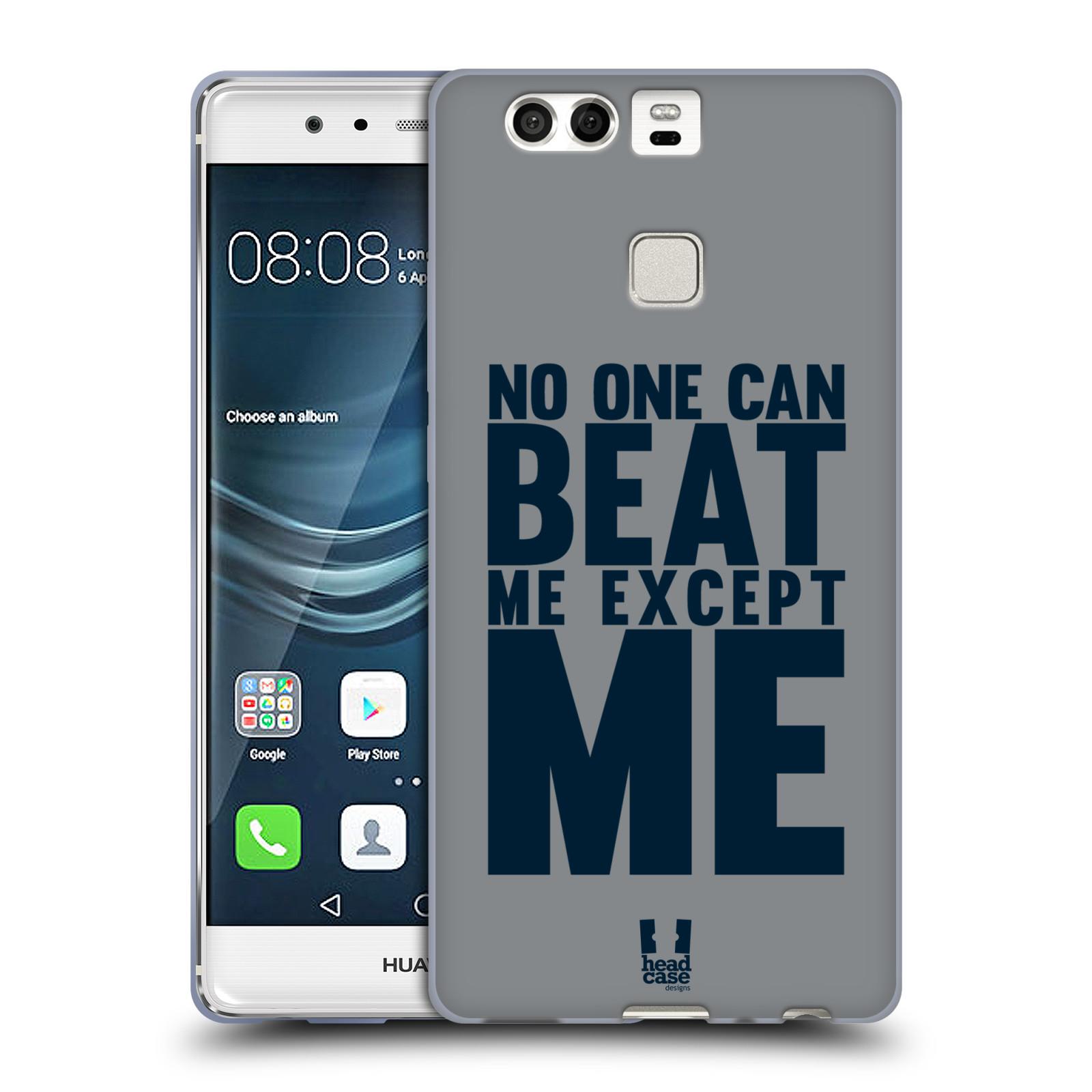 HEAD CASE silikonový obal na mobil Huawei P9 / P9 DUAL SIM Sportovní tématika síla vůle Beat ME