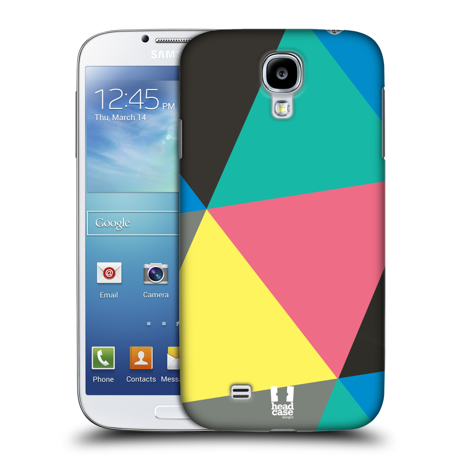 HEAD CASE DESIGNS PRISMATIC TRIANGLE DESIGN CASE FOR SAMSUNG GALAXY S4 I9500