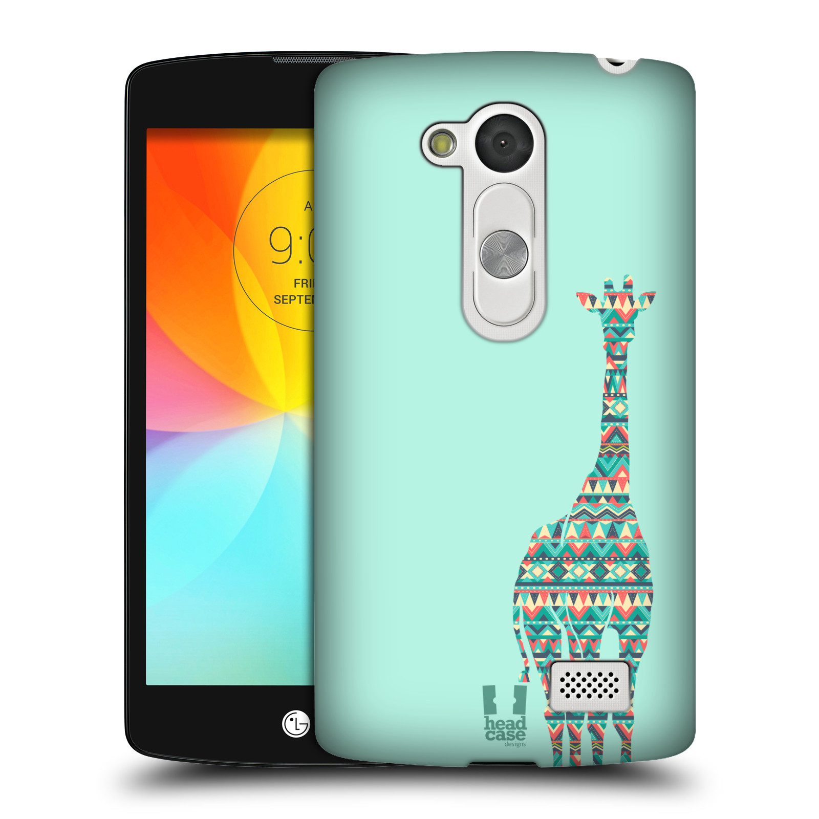 HEAD CASE DESIGNS PATTERNED ANIMAL SILHOUETTES CASE FOR LG L FINO D290N
