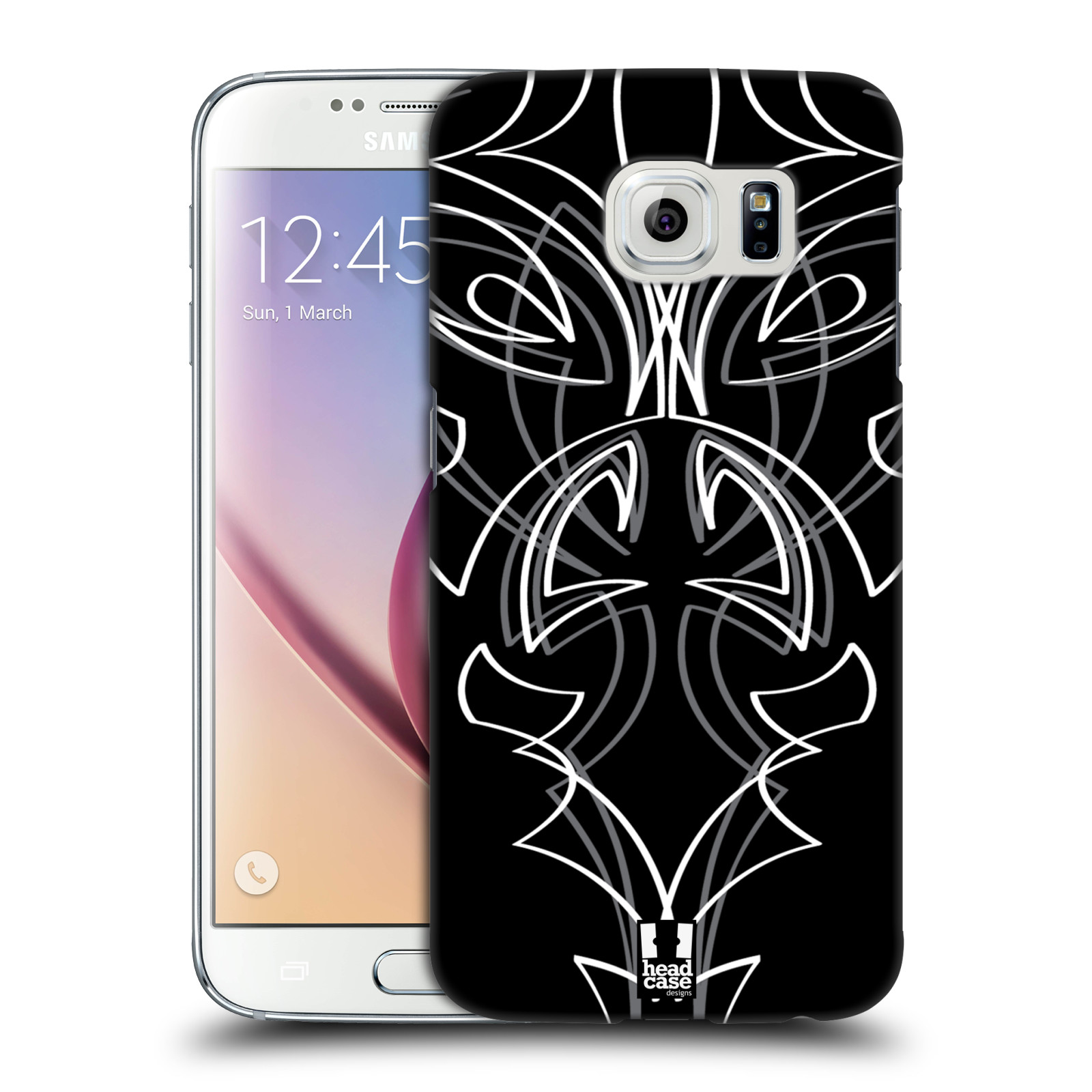 Head case designs pinstripe template hard back case for for Cell phone cover design ideas