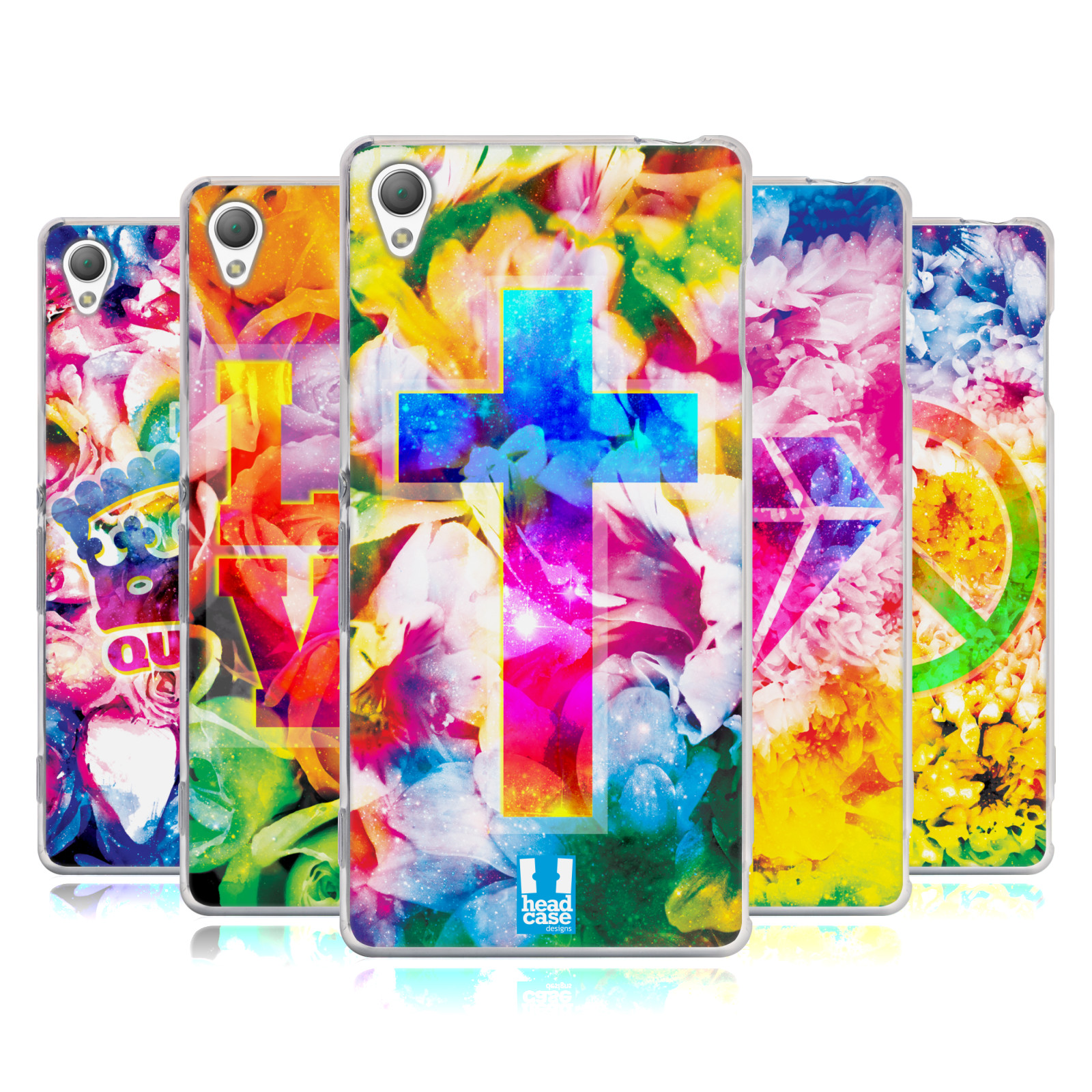 HEAD-CASE-DESIGNS-PSYCHEDELIC-FLORALS-SOFT-GEL-CASE-FOR-SONY-PHONES-1