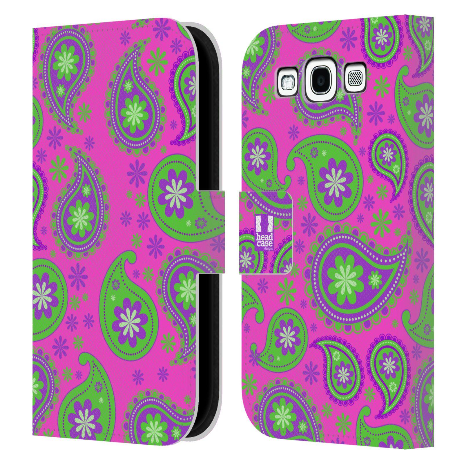 HEAD CASE Flipové pouzdro pro mobil Samsung Galaxy S3 snové slzy fialová