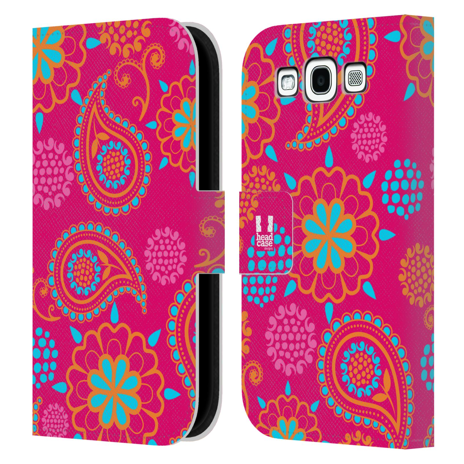 HEAD CASE Flipové pouzdro pro mobil Samsung Galaxy S3 snové slzy růžová