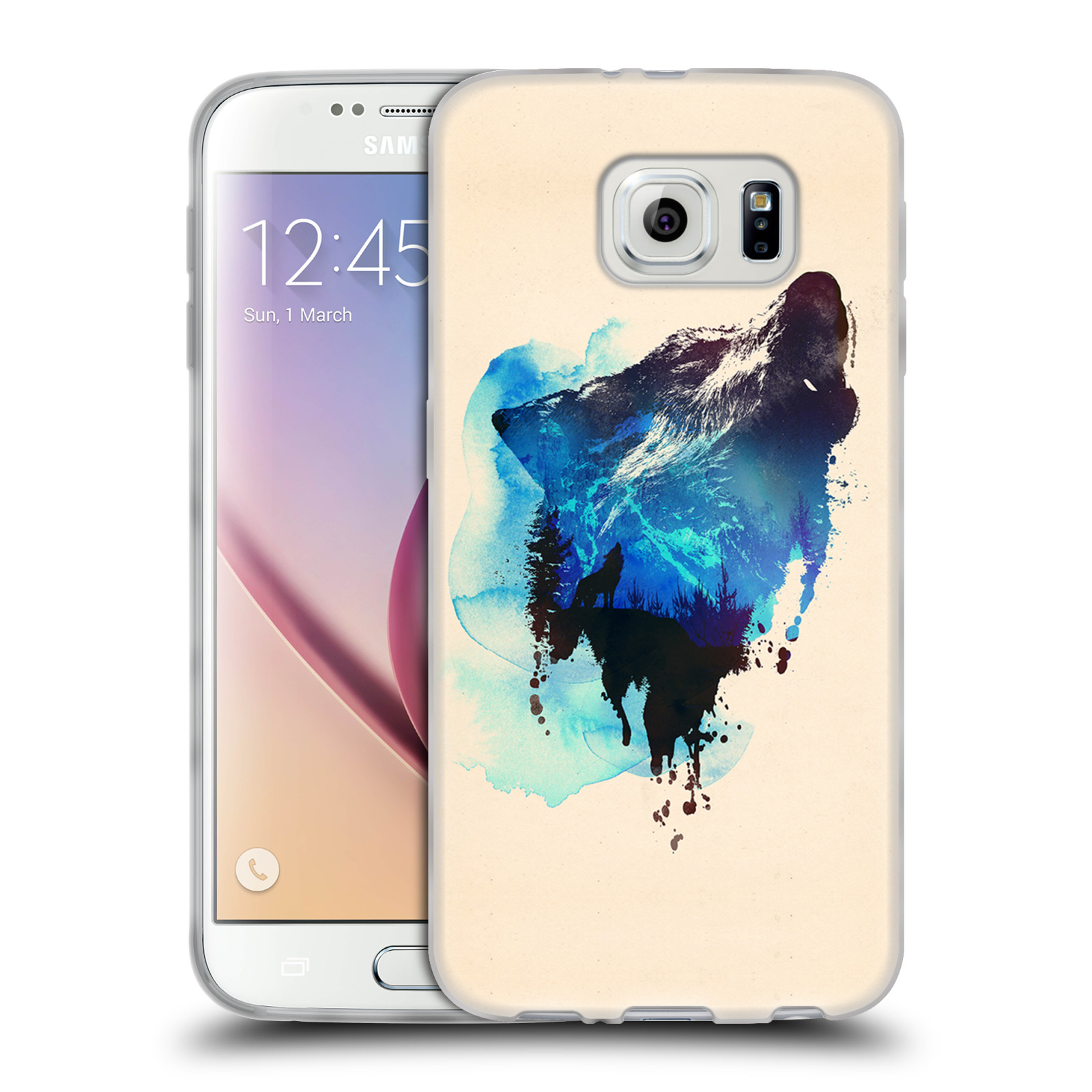 OFFICIAL ROBERT FARKAS ANIMALS SOFT GEL CASE FOR SAMSUNG PHONES 1
