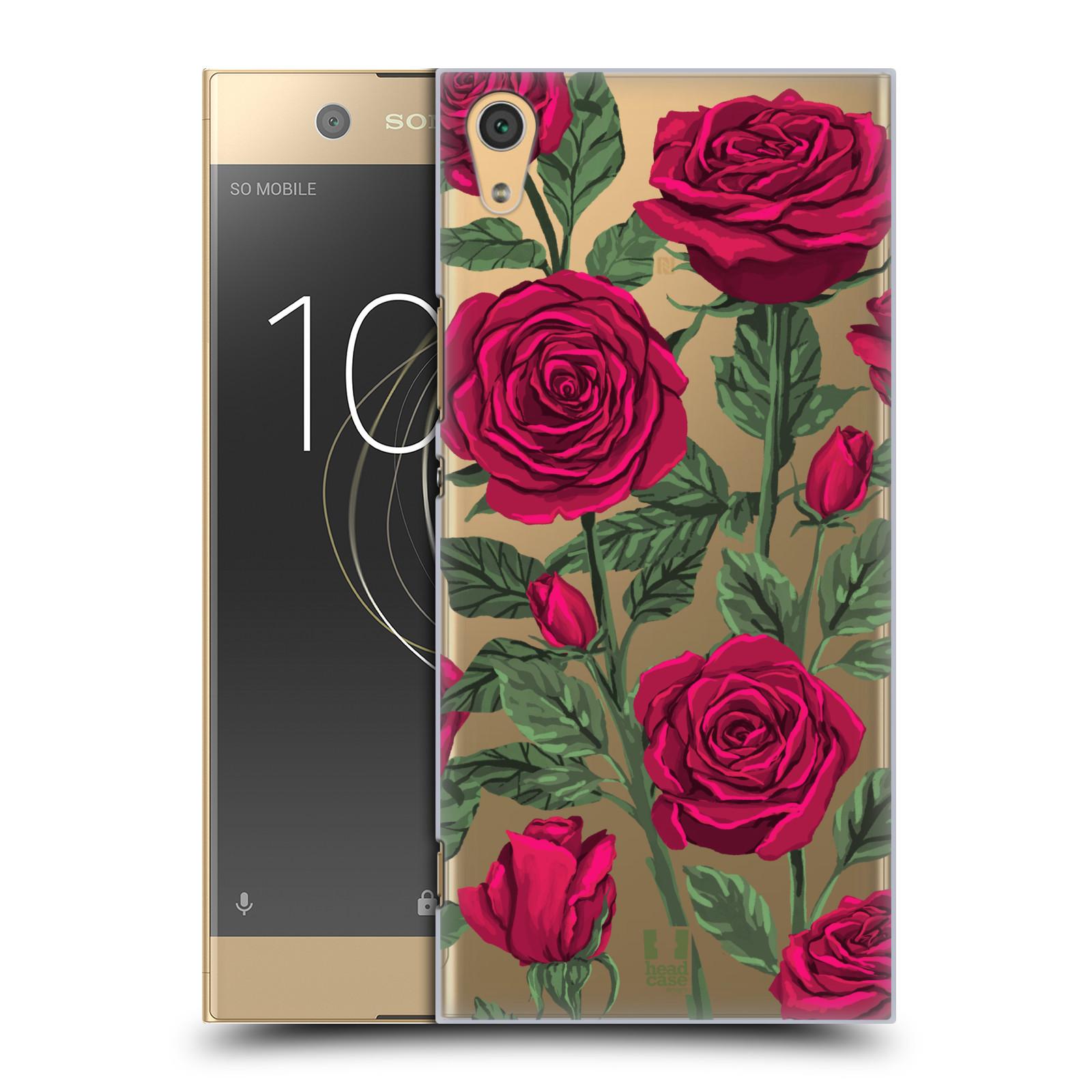 Pouzdro na mobil Sony Xperia XA1 ULTRA - HEAD CASE - květina růže