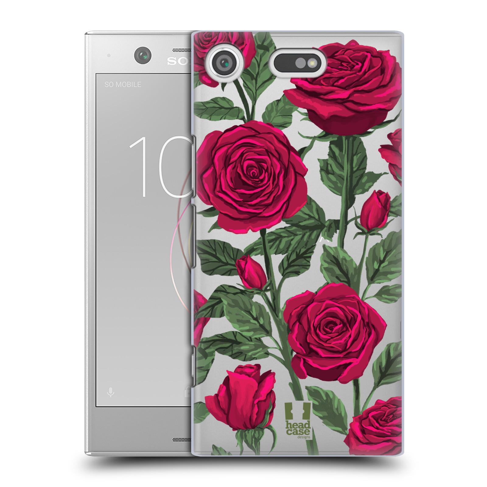 Pouzdro na mobil Sony Xperia XZ1 COMPACT - HEAD CASE - květina růže
