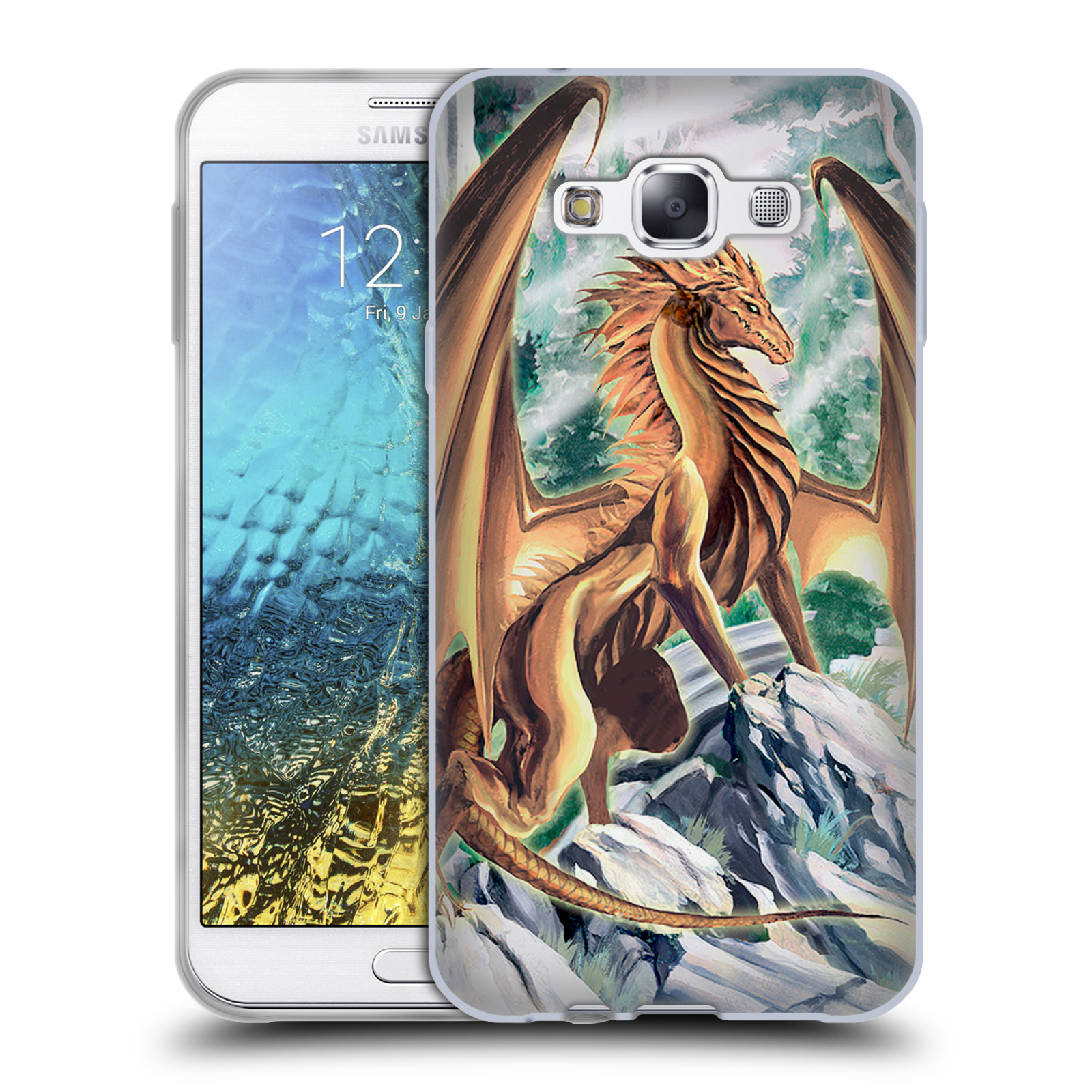 Official Ruth Thompson Dragons 3 Soft Gel Case For Samsung