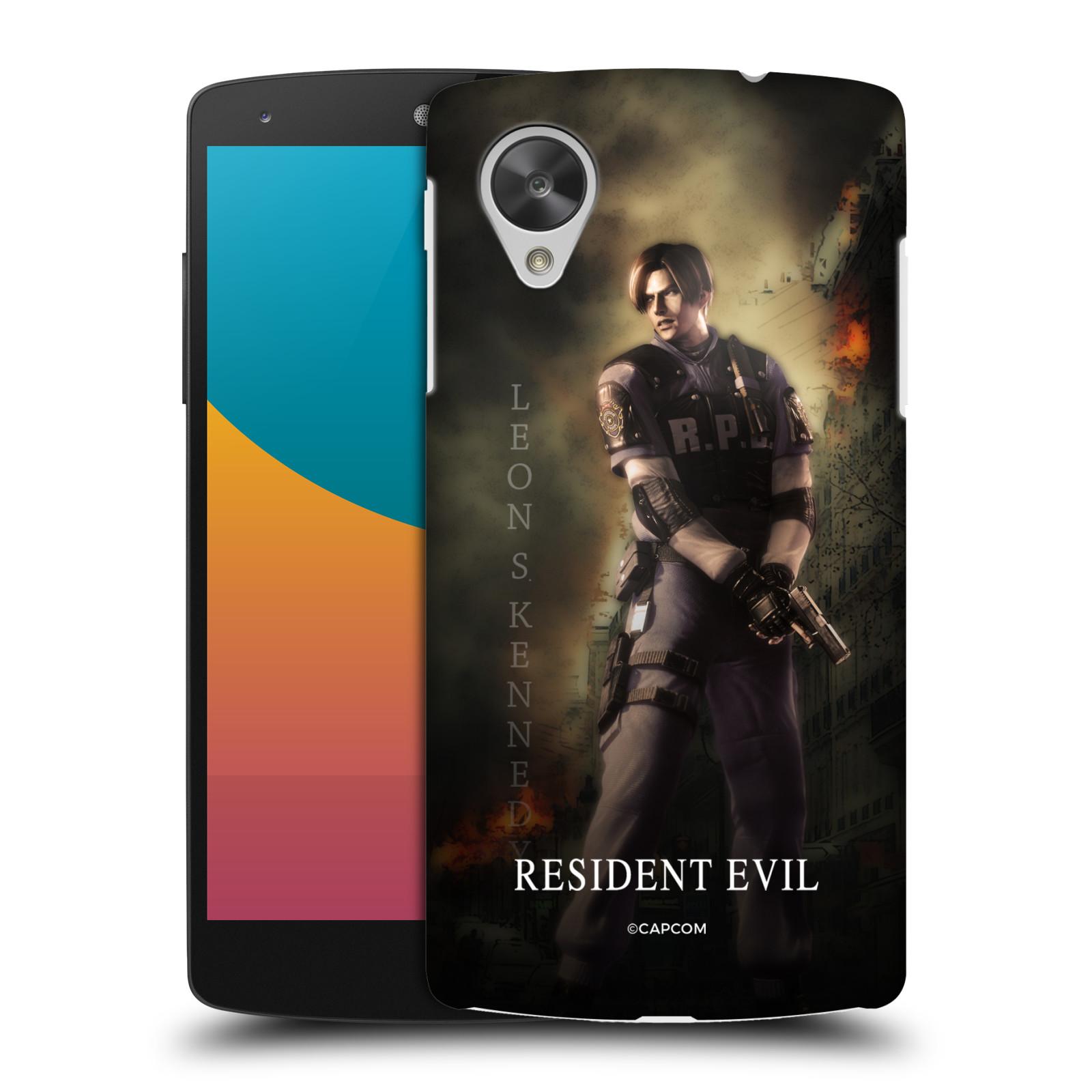 Pouzdro na mobil LG Nexus 5 Resident Evil Leon S. Kennedy