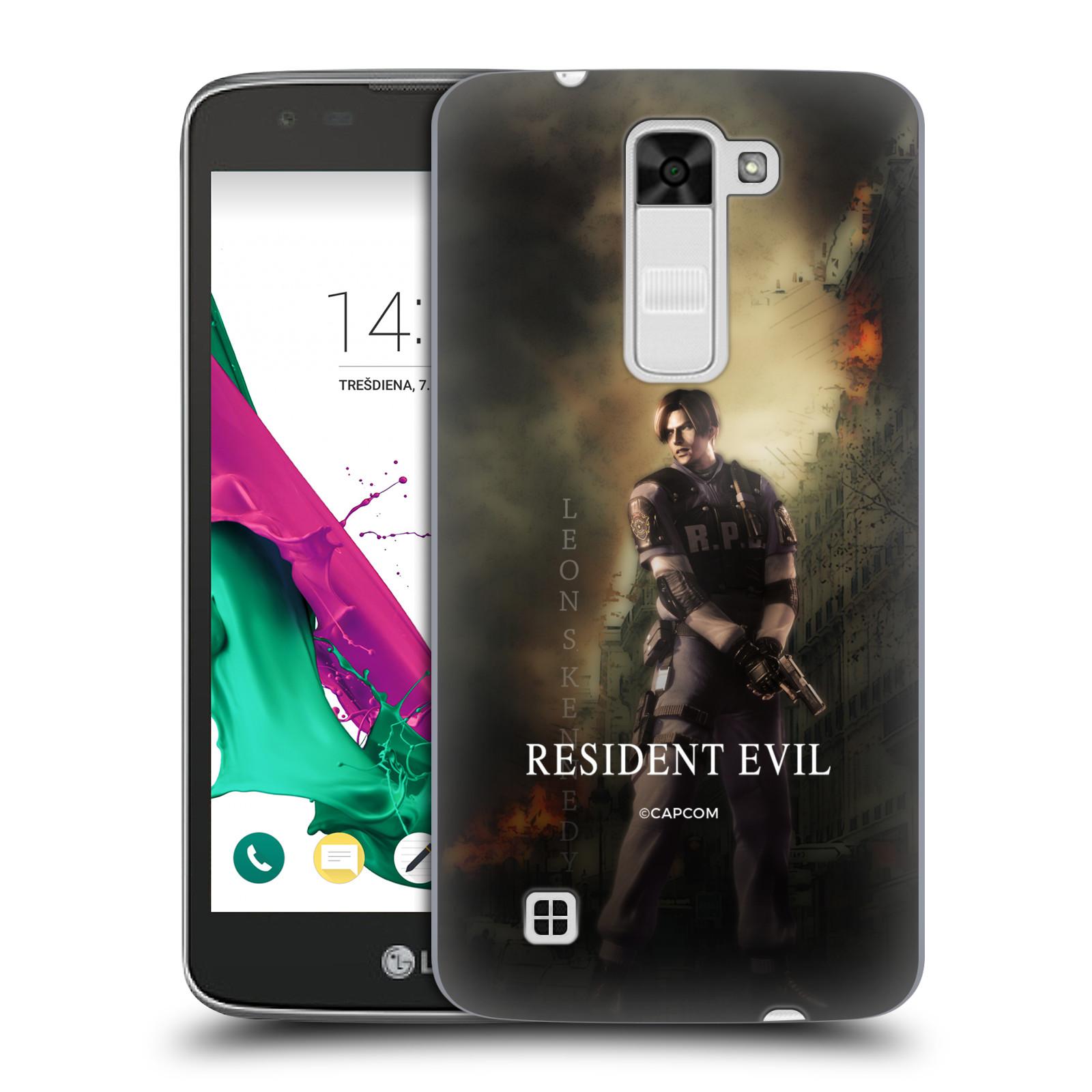 Pouzdro na mobil LG K7 Resident Evil Leon S. Kennedy