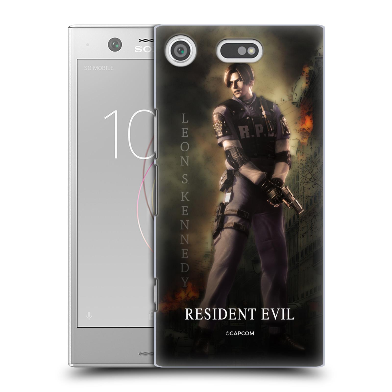Pouzdro na mobil Sony Xperia XZ1 COMPACT Resident Evil Leon S. Kennedy