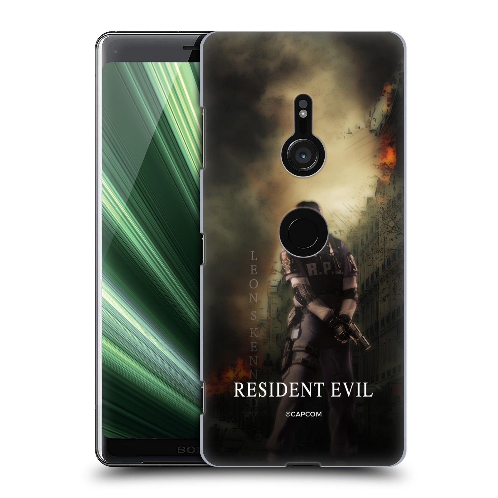 Pouzdro na mobil Sony Xperia XZ3 Resident Evil Leon S. Kennedy