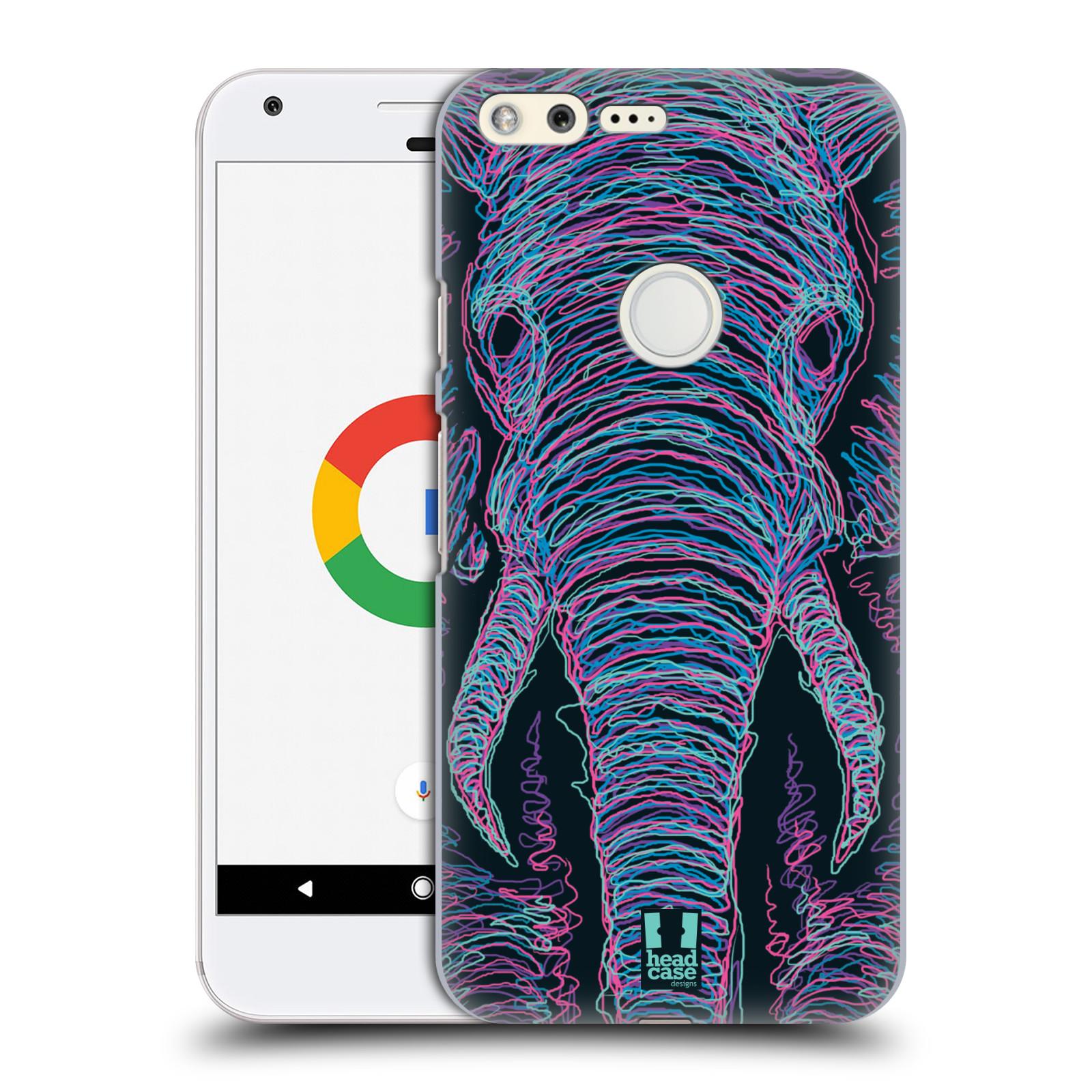 HEAD CASE plastový obal na mobil GOOGLE Pixel vzor zvíře čmáranice slon