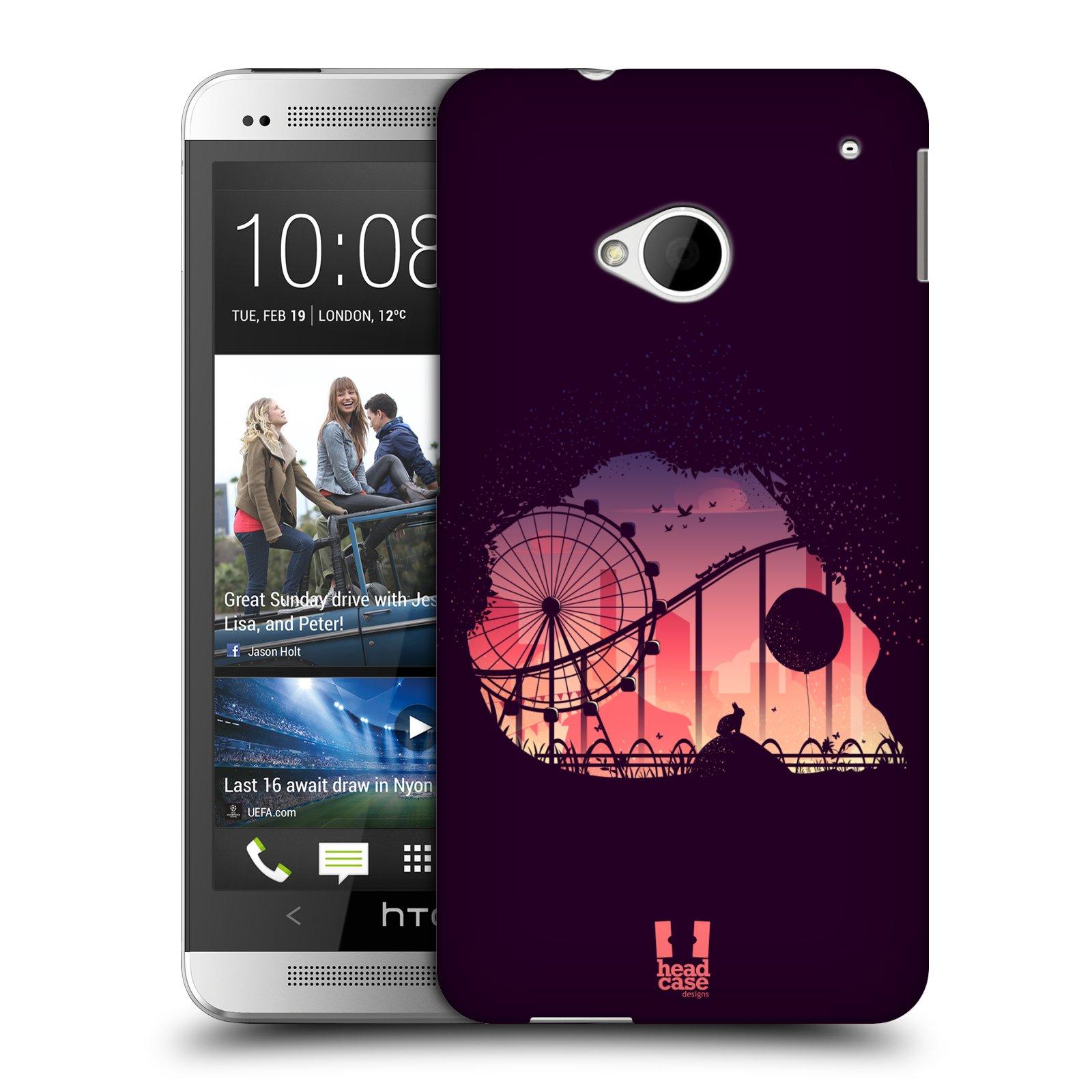 HEAD CASE DESIGNS SKULLSCAPE CASE COVER FOR HTC ONE