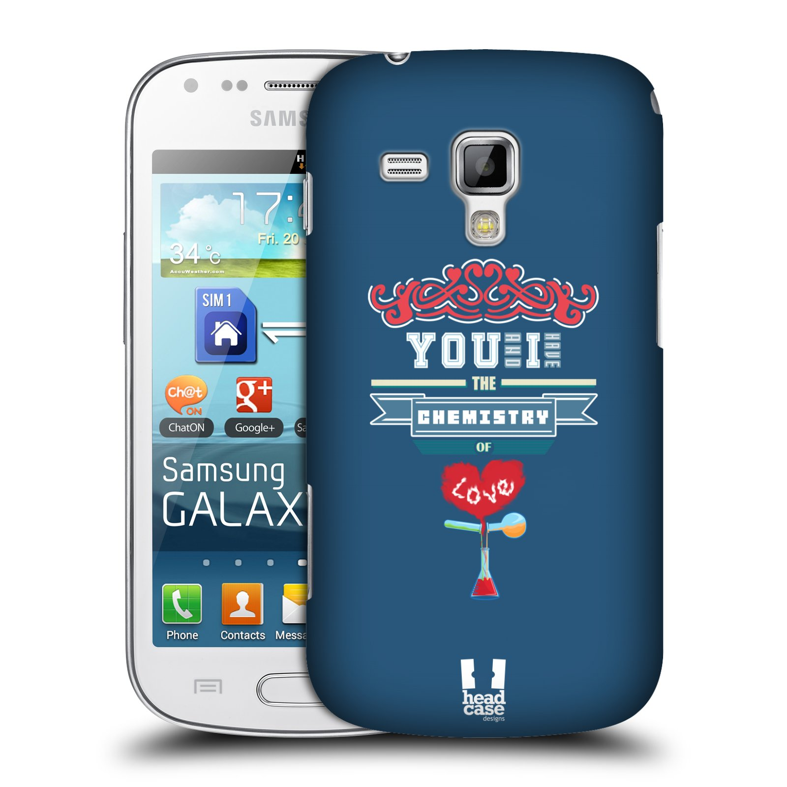 HEAD CASE SCIENTIFIC PICK-UP LINES COVER FOR SAMSUNG GALAXY TREND S7560