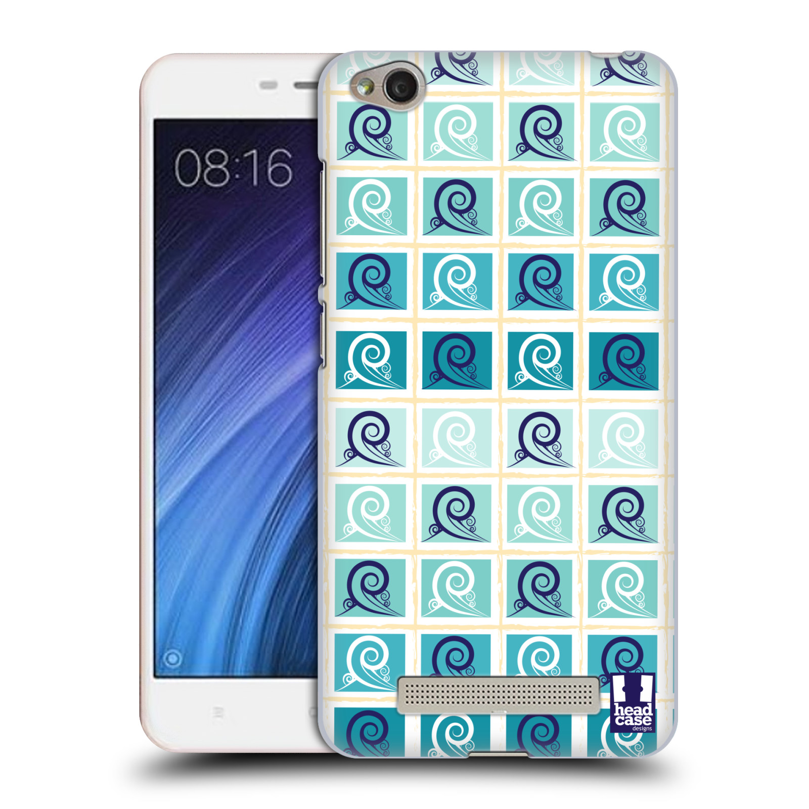 HEAD-CASE-DESIGNS-ONDE-DEL-MARE-PATTERN-COVER-RETRO-RIGIDA-PER-XIAOMI-REDMI-4A