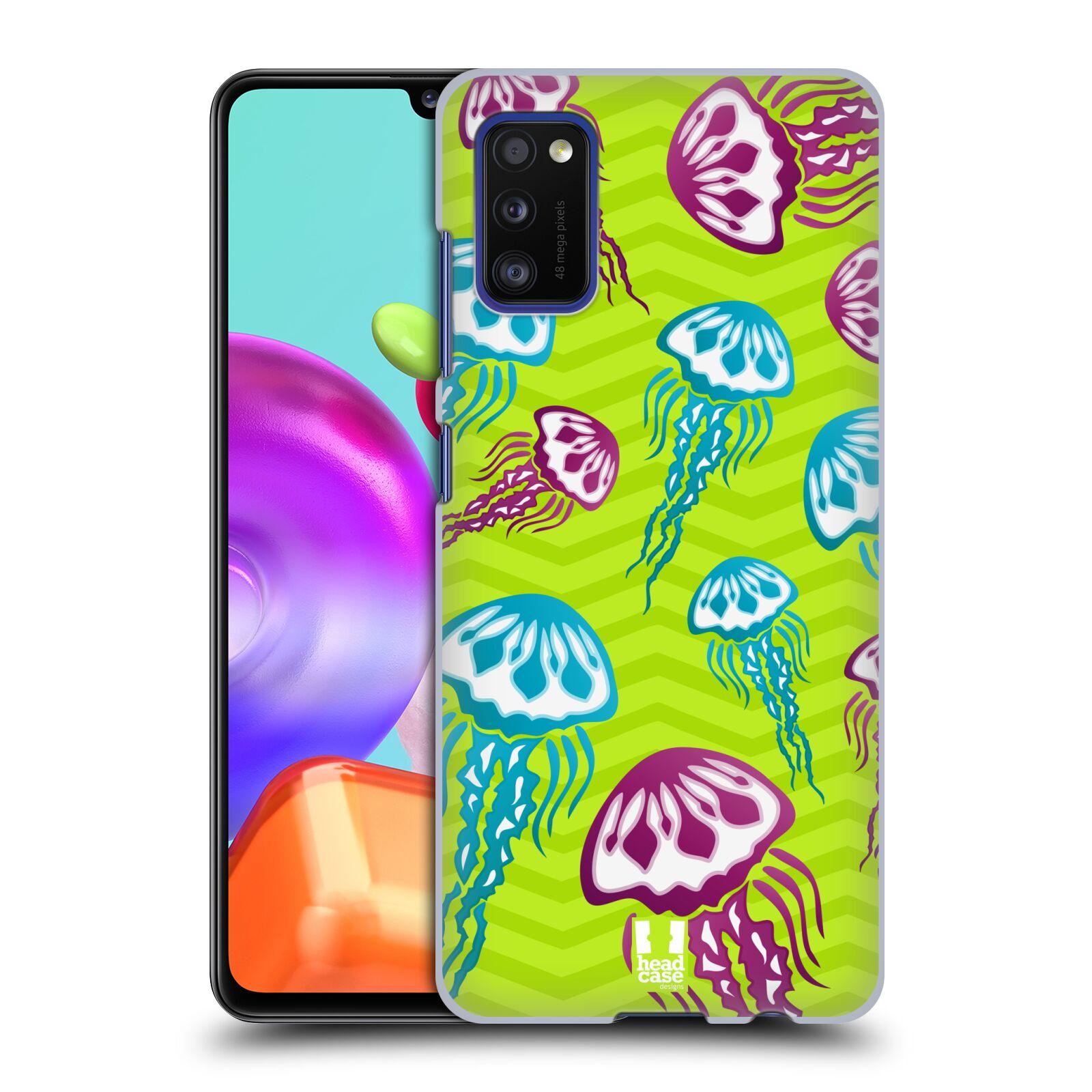 Zadní kryt na mobil Samsung Galaxy A41 vzor mořský živočich medůza