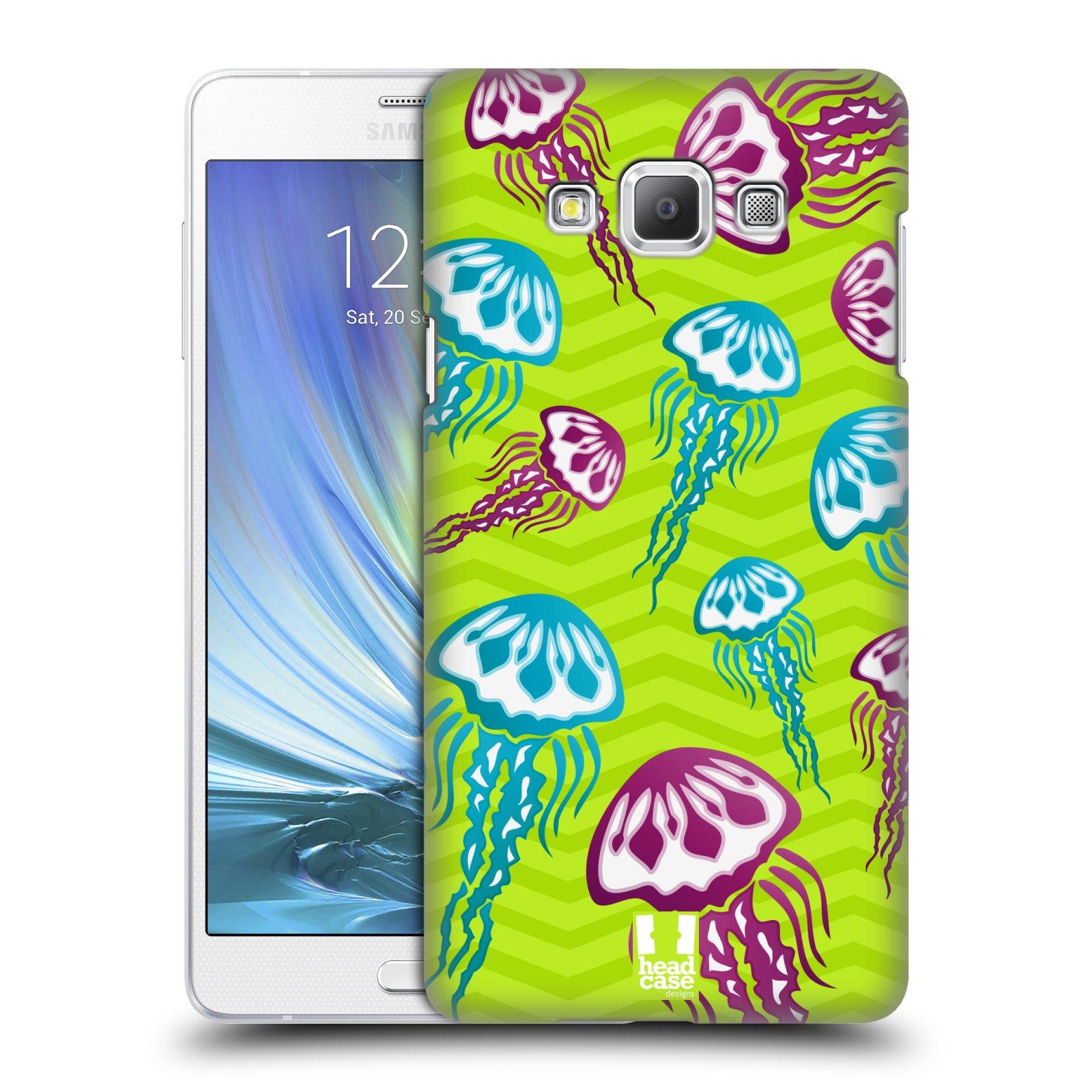 HEAD CASE plastový obal na mobil SAMSUNG GALAXY A7 vzor mořský živočich medůza