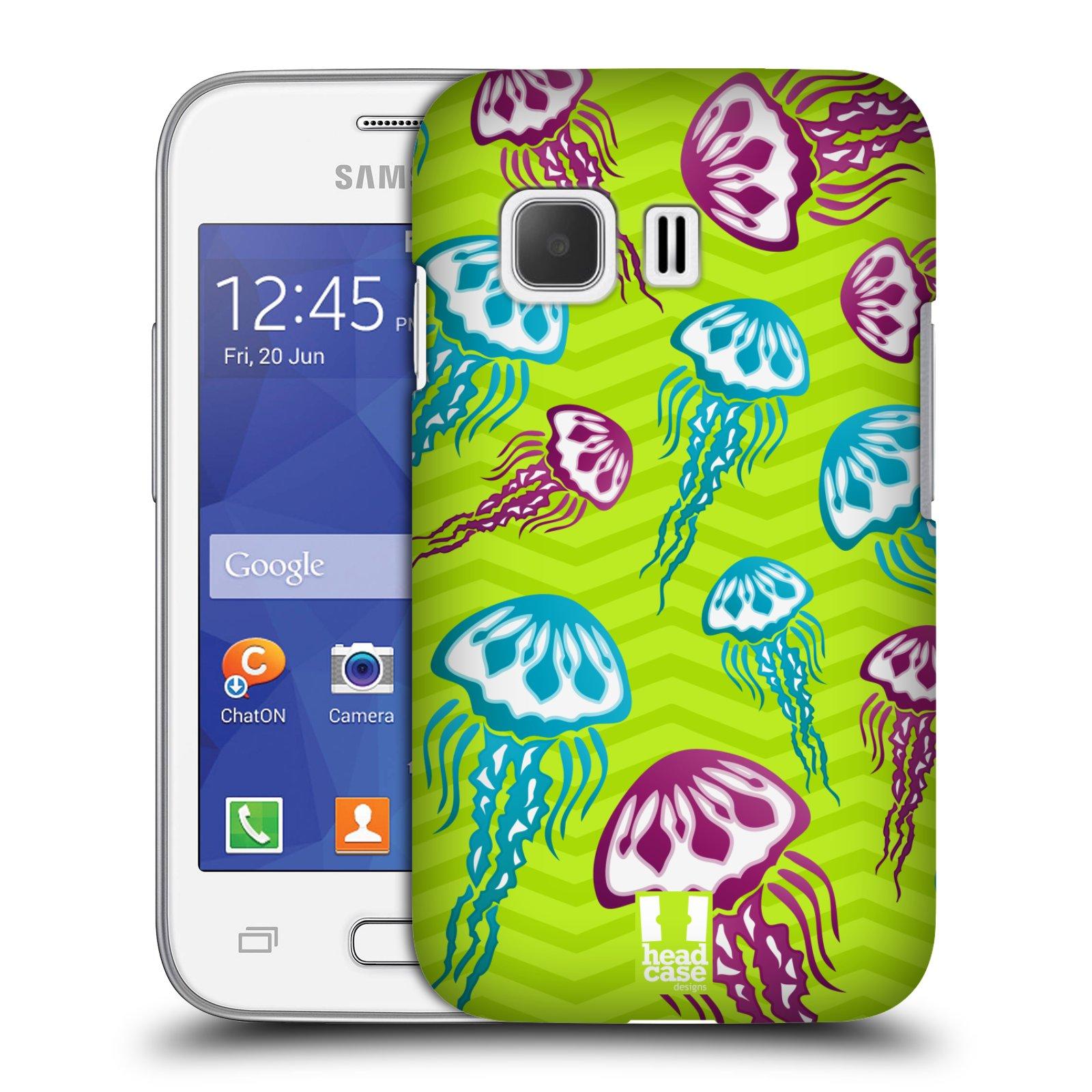 HEAD CASE plastový obal na mobil SAMSUNG Galaxy Young 2 (G130) vzor mořský živočich medůza